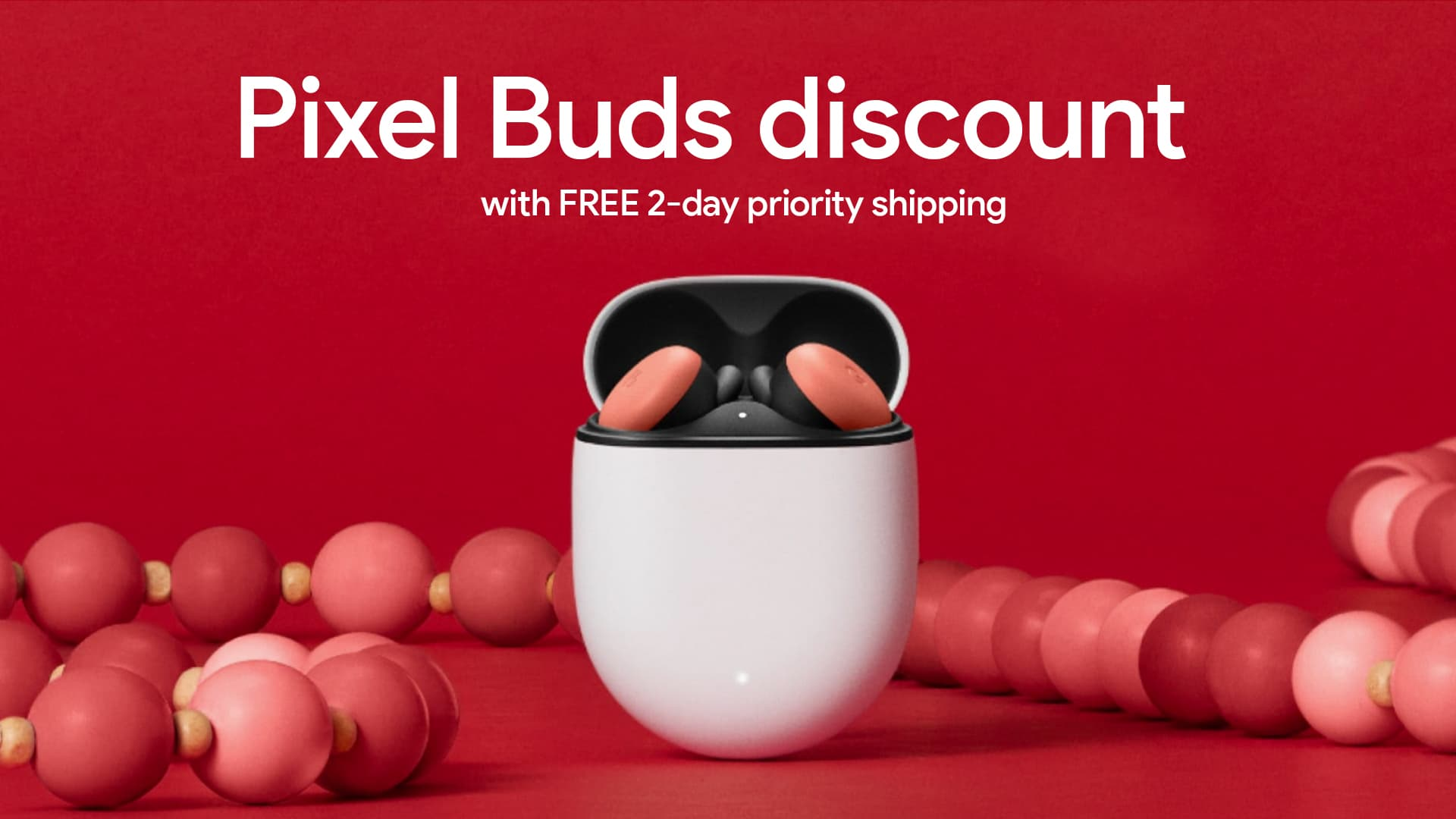 Google's Pixel Buds are on sale with free 2-day shipping just in time for Christmas