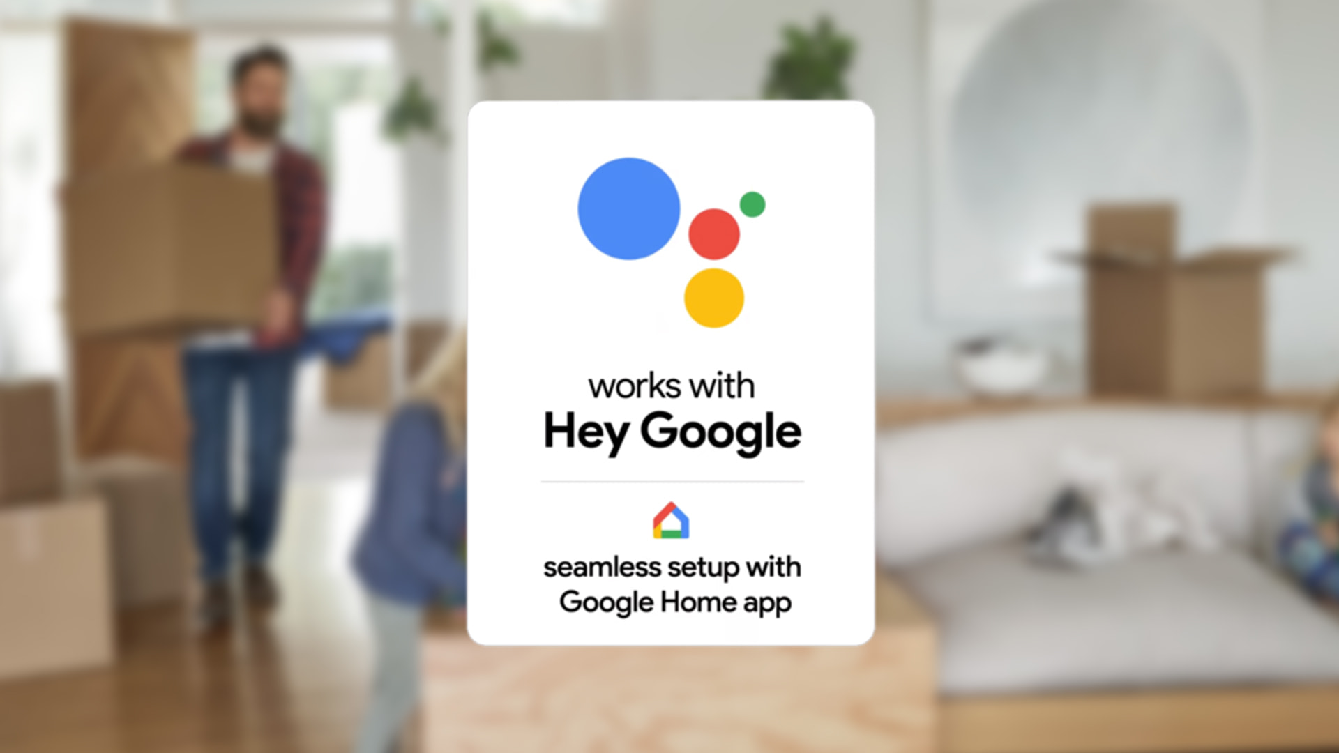 Google Assistant-enabled device boxes to receive a new badge that indicates an easier setup process