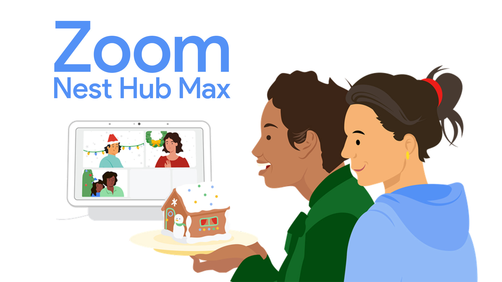 Zoom comes to Nest Hub Max and offers unlimited 24-hour calls through March
