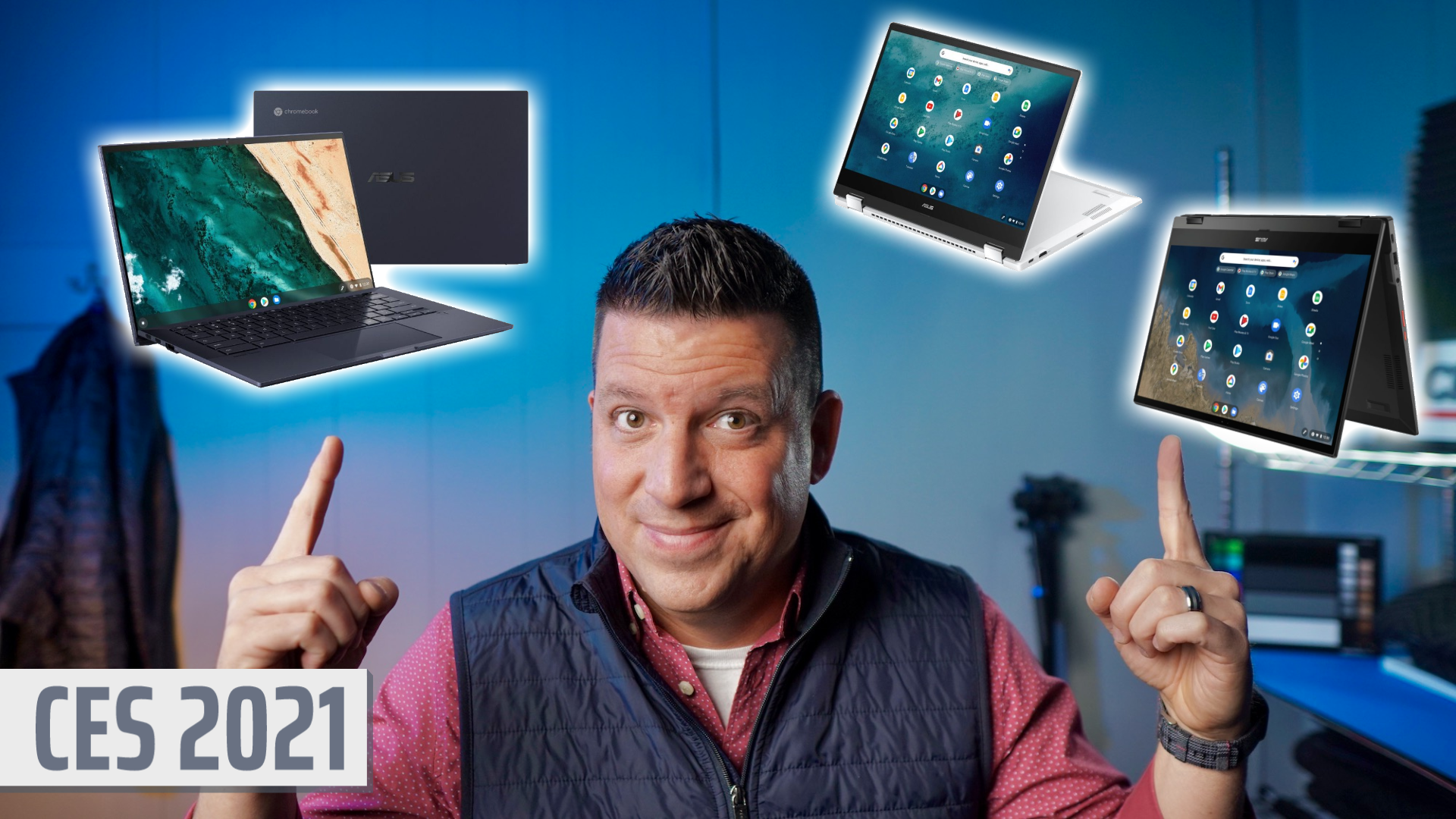 CES 2021: It's time to get excited about ASUS Chromebooks again [VIDEO]