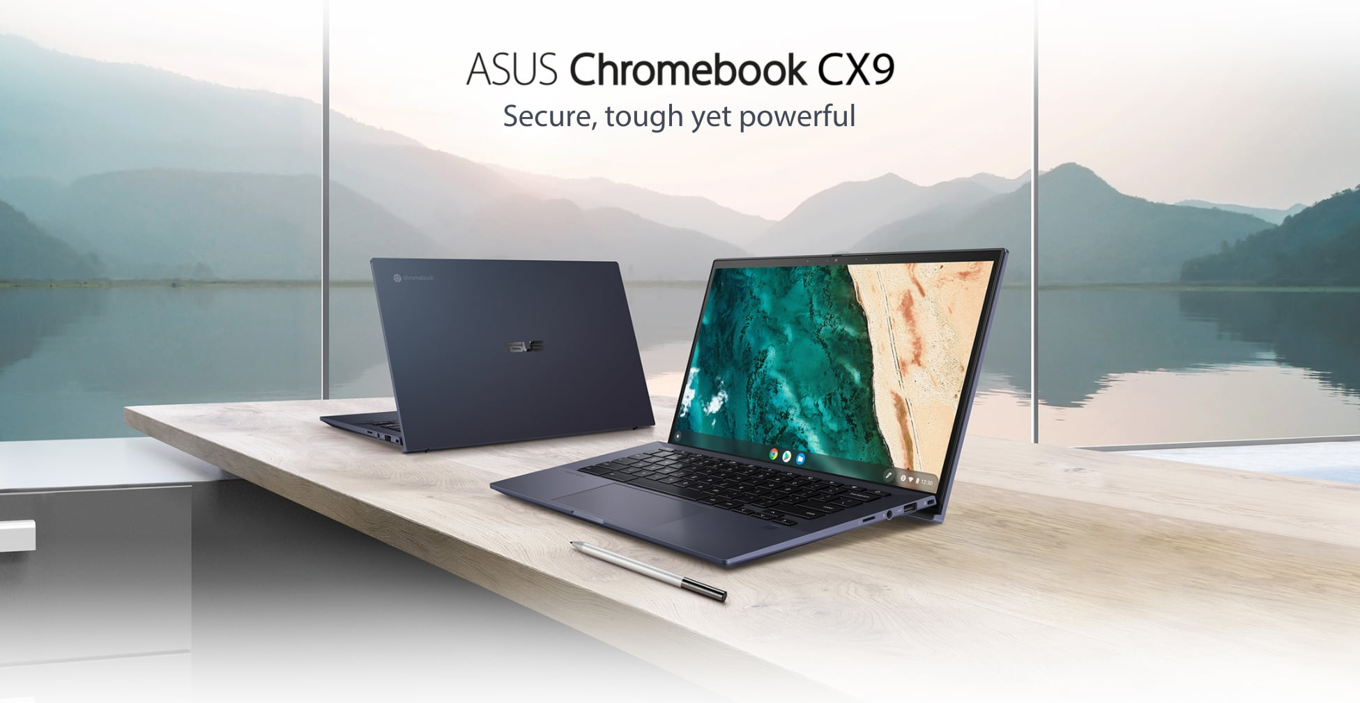 All 3 new ASUS Chromebooks get awesome landing pages