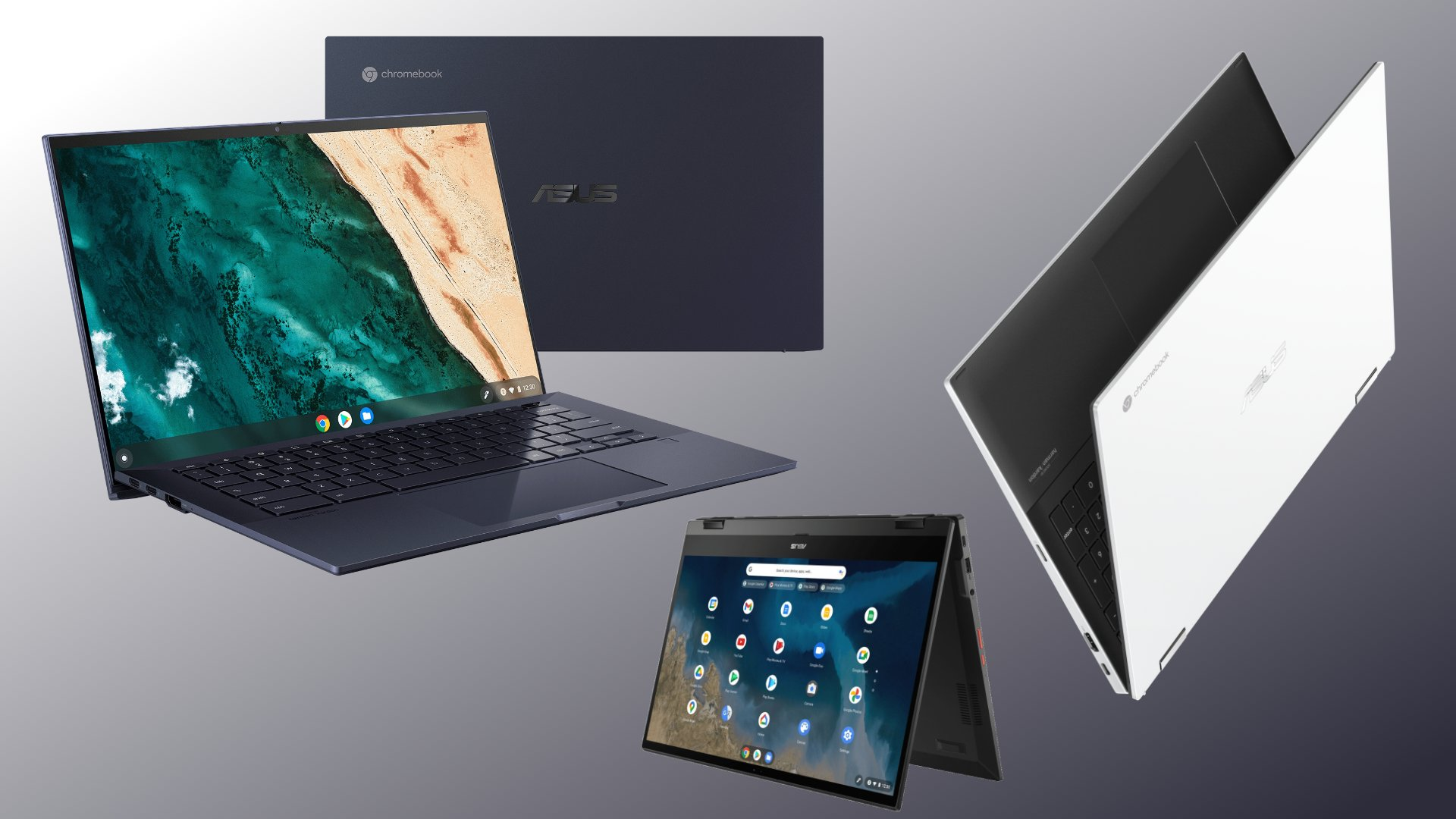 ASUS unveils 3 new Chromebooks at CES 2021 with Intel Evo and AMD on board