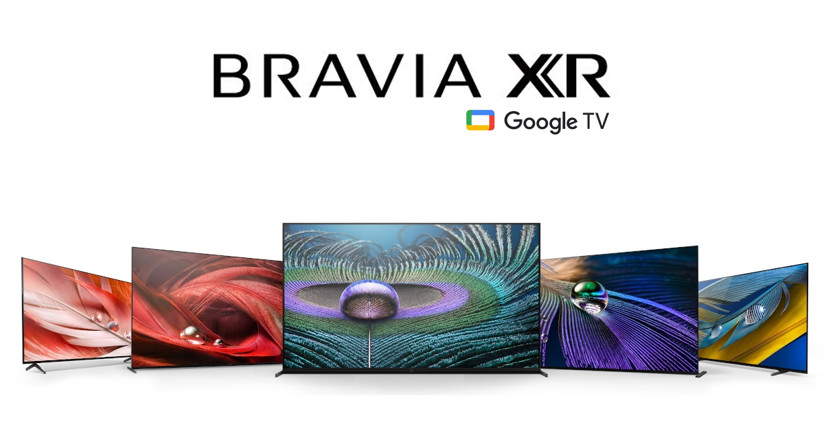 Google TV will drive the experience in Sony's new 'Bravia XR' televisions
