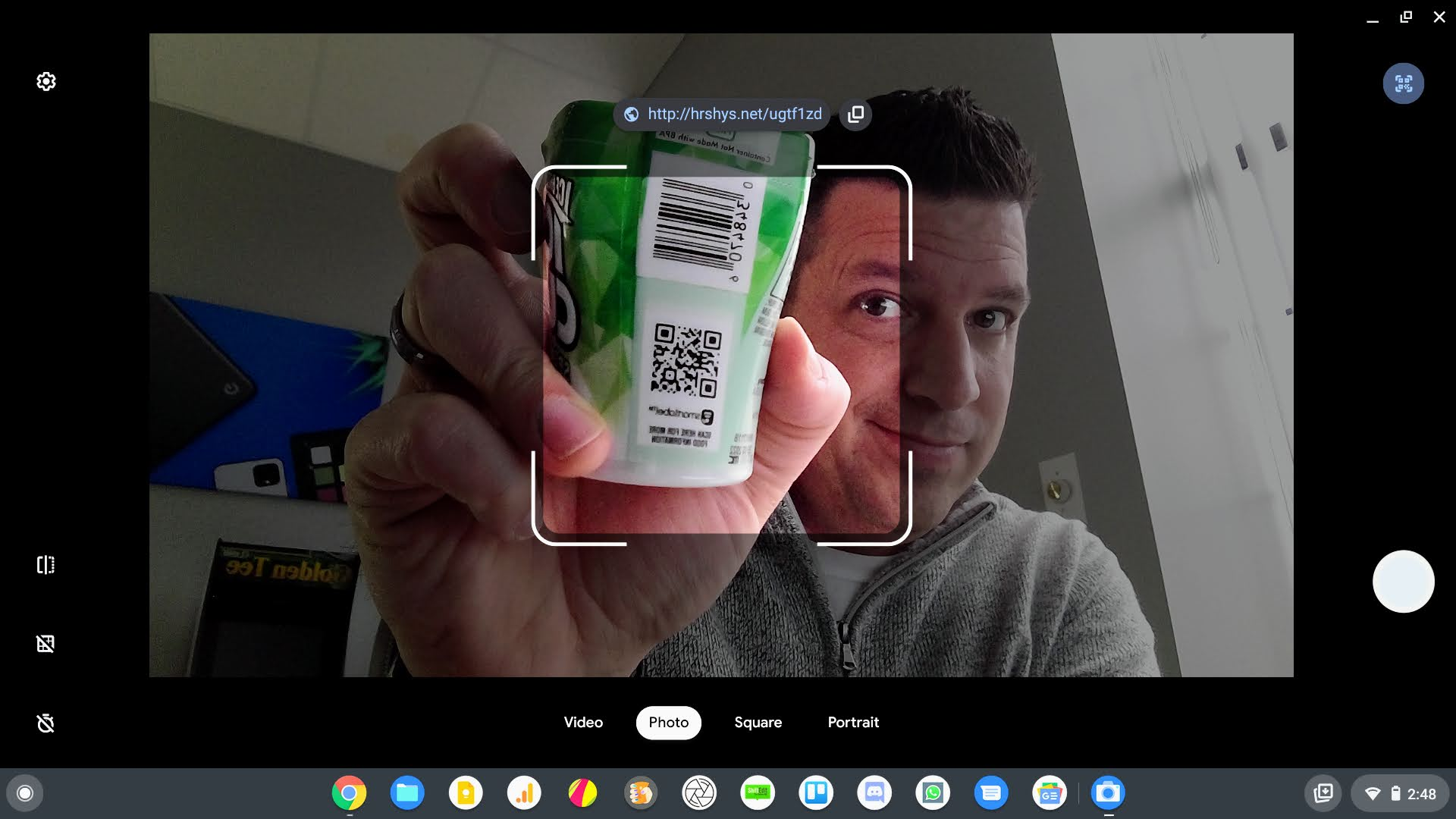 Chromebooks will be getting a QR code scanner in Chrome OS 89
