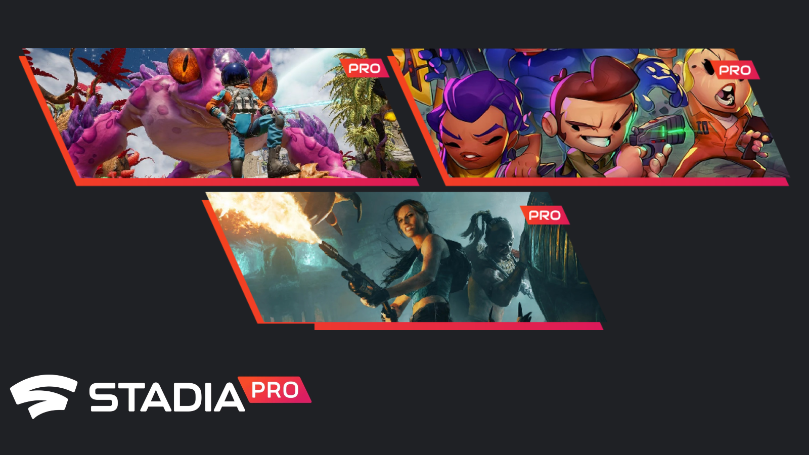 [U: Claim] Your Stadia Pro games for February – Journey to the Savage Planet, Enter the Gungeon, and Lara Croft