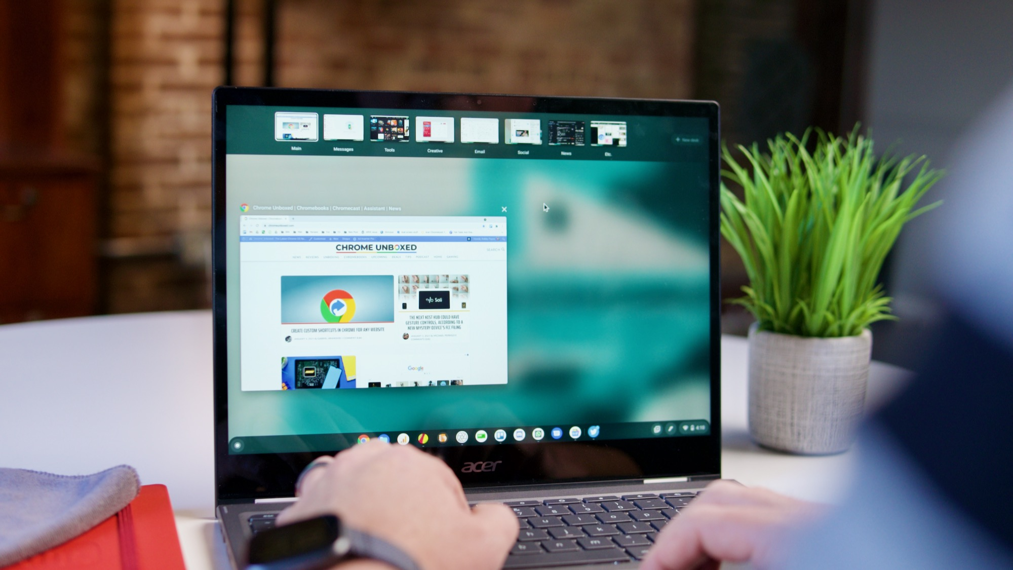Here's how you can get the most out of your Chromebook's virtual desks