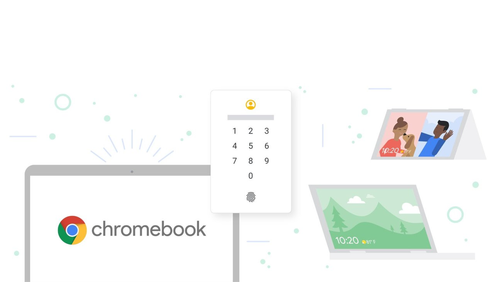 Chrome OS 88 offers a faster way to sign in to websites – by using your fingerprint or PIN code