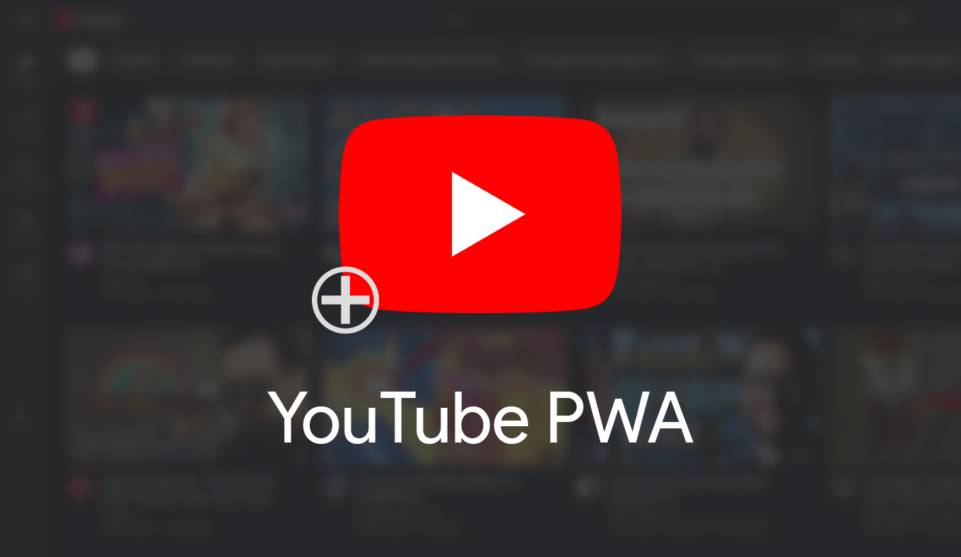 Youtube web app gains PWA install prompt – may be hinting at offline support