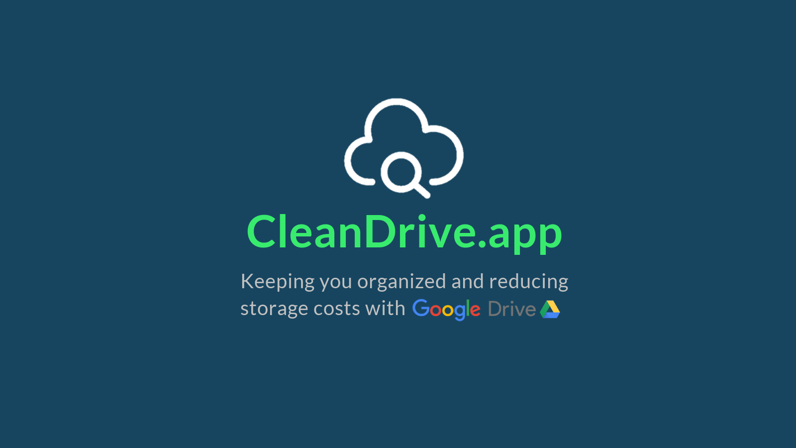 Clean Drive is a powerful tool for reclaiming your cloud storage and starting fresh in 2021