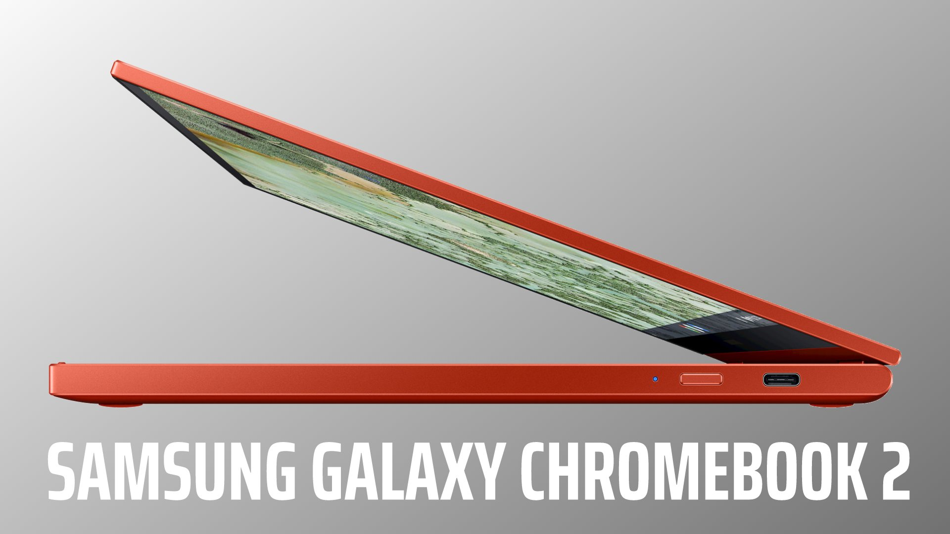 This is the Samsung Galaxy Chromebook 2