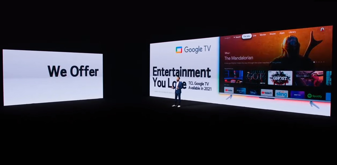 Everyone loves Google TV – TCL joins Sony in adding the popular new interface to its 2021 devices