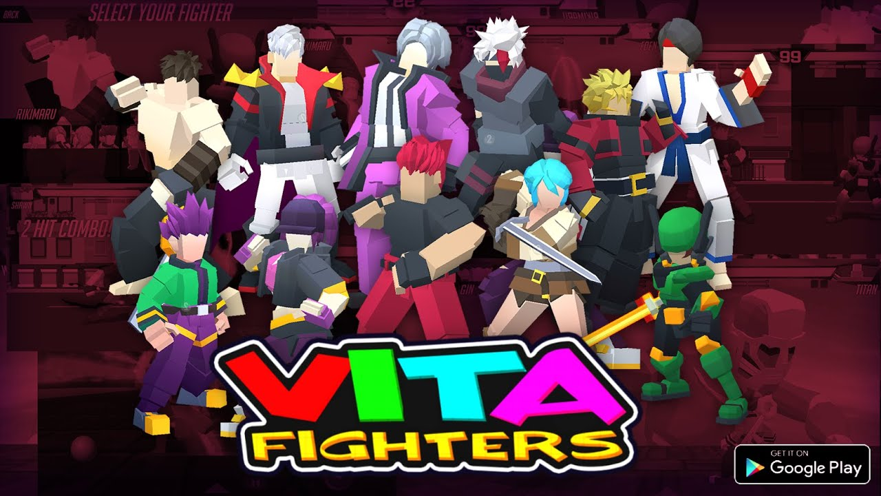 Vita Fighters is a fun, gamepad-enabled brawler for your Chromebook that was created by one person