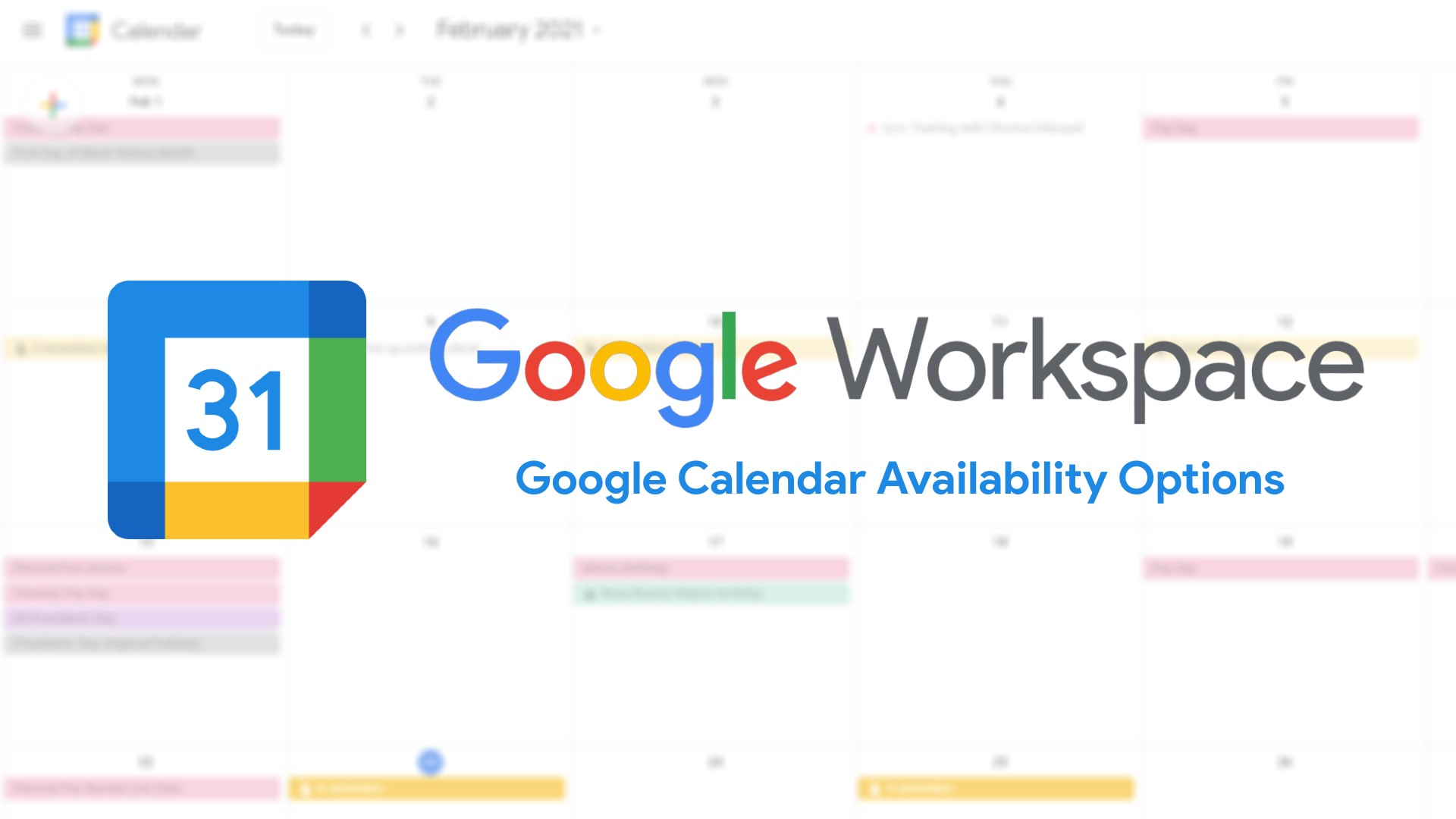 Google Calendar Adds Option for Repeating Out of Office and Split Working Hours