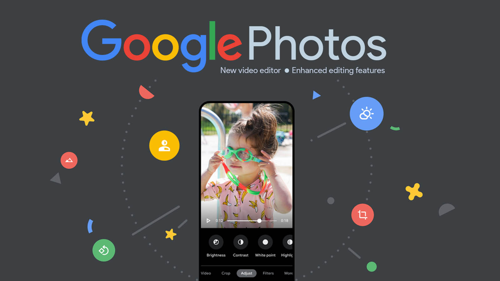 Google Photos gets a new video editor, unlocks Pixel features for One subscribers