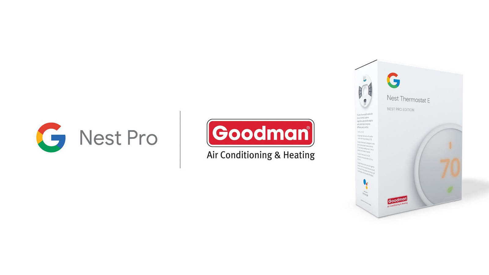 The Nest Thermostat E finds a new home with Goodman Pro installer partnership