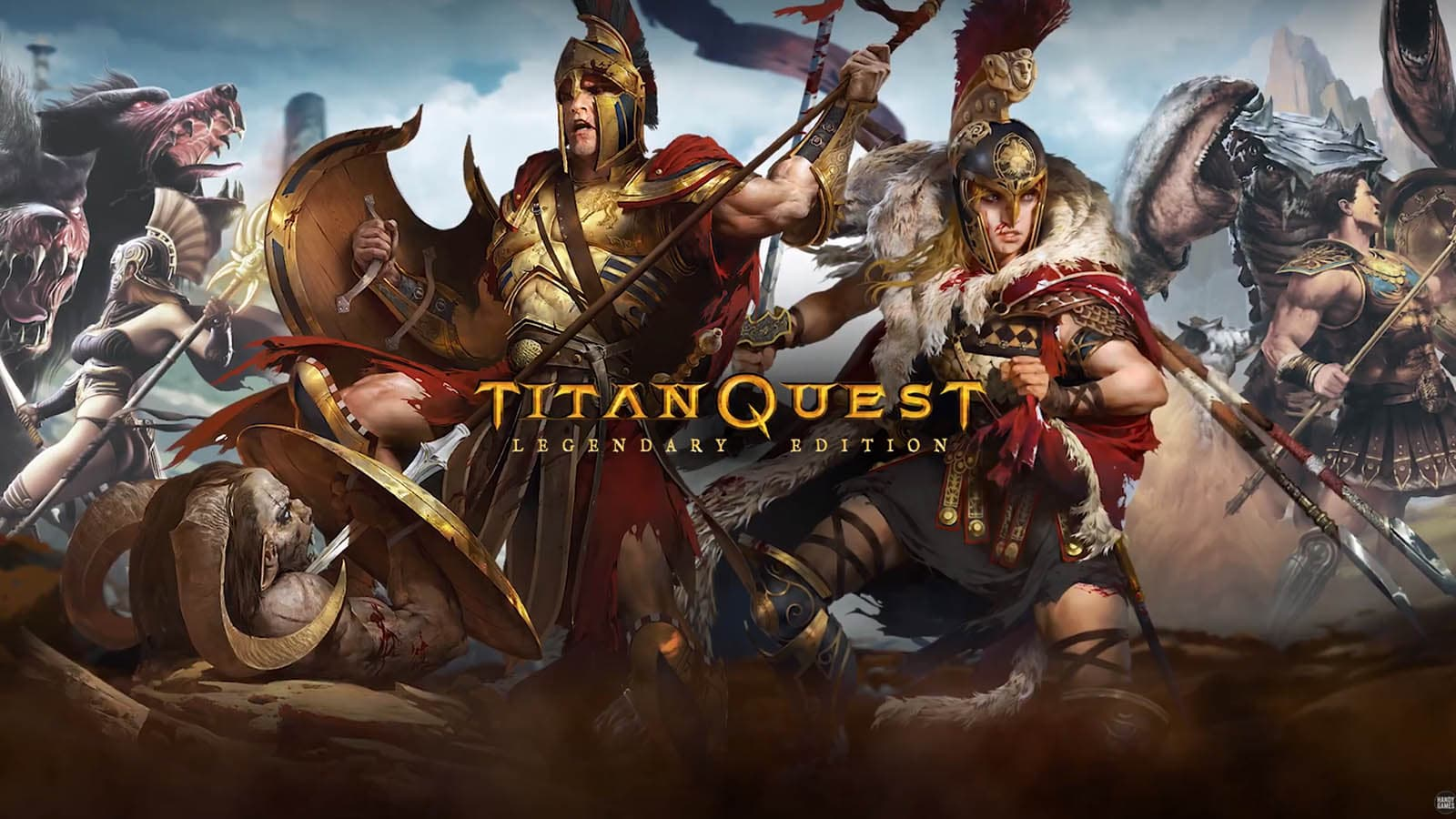 Titan Quest Legendary Edition releases on Chromebooks with controller support coming