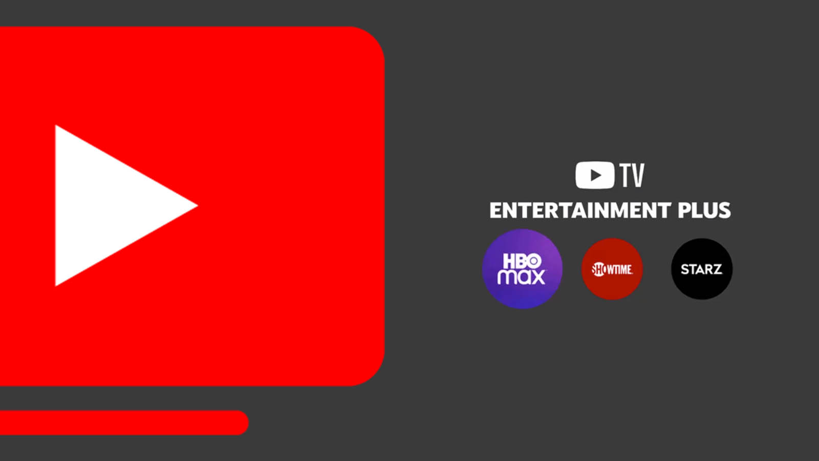 Entertainment Plus package from Youtube TV bundles three popular networks to save you money