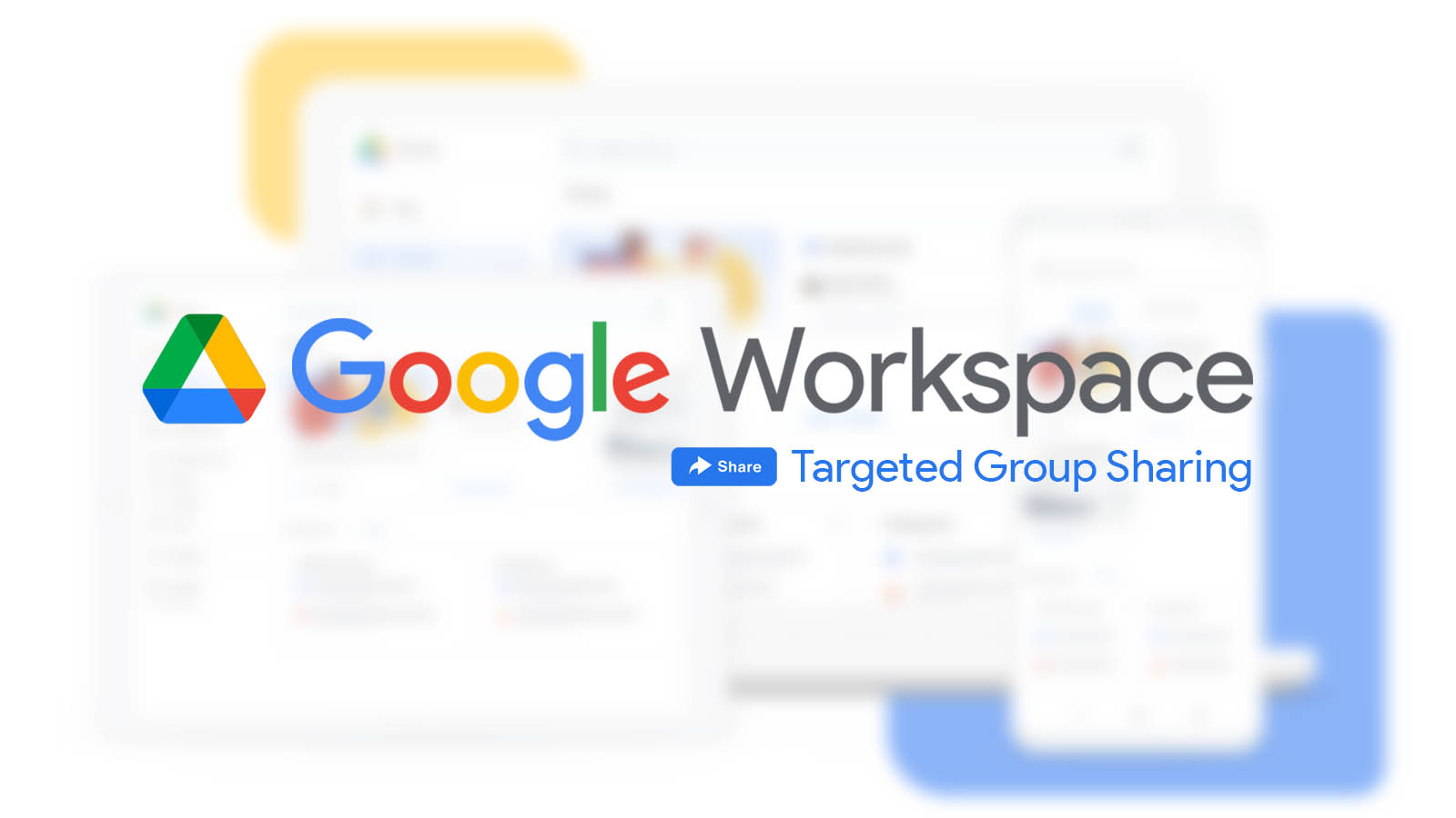 Google Workspace Now Allows Limiting Drive Sharing to Targeted Groups
