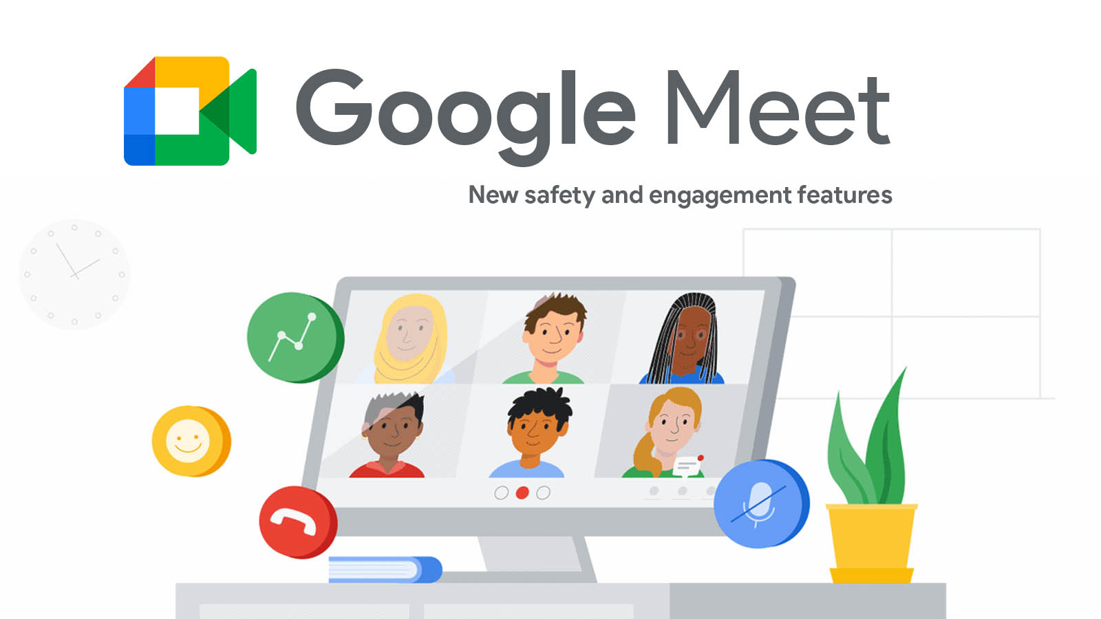 Google Meet is adding new safety and engagement features to support distanced learning