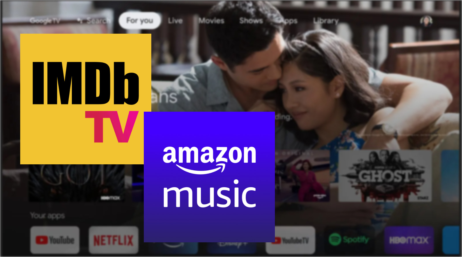 Amazon Music and IMDb TV arrive on Chromecast with Google TV