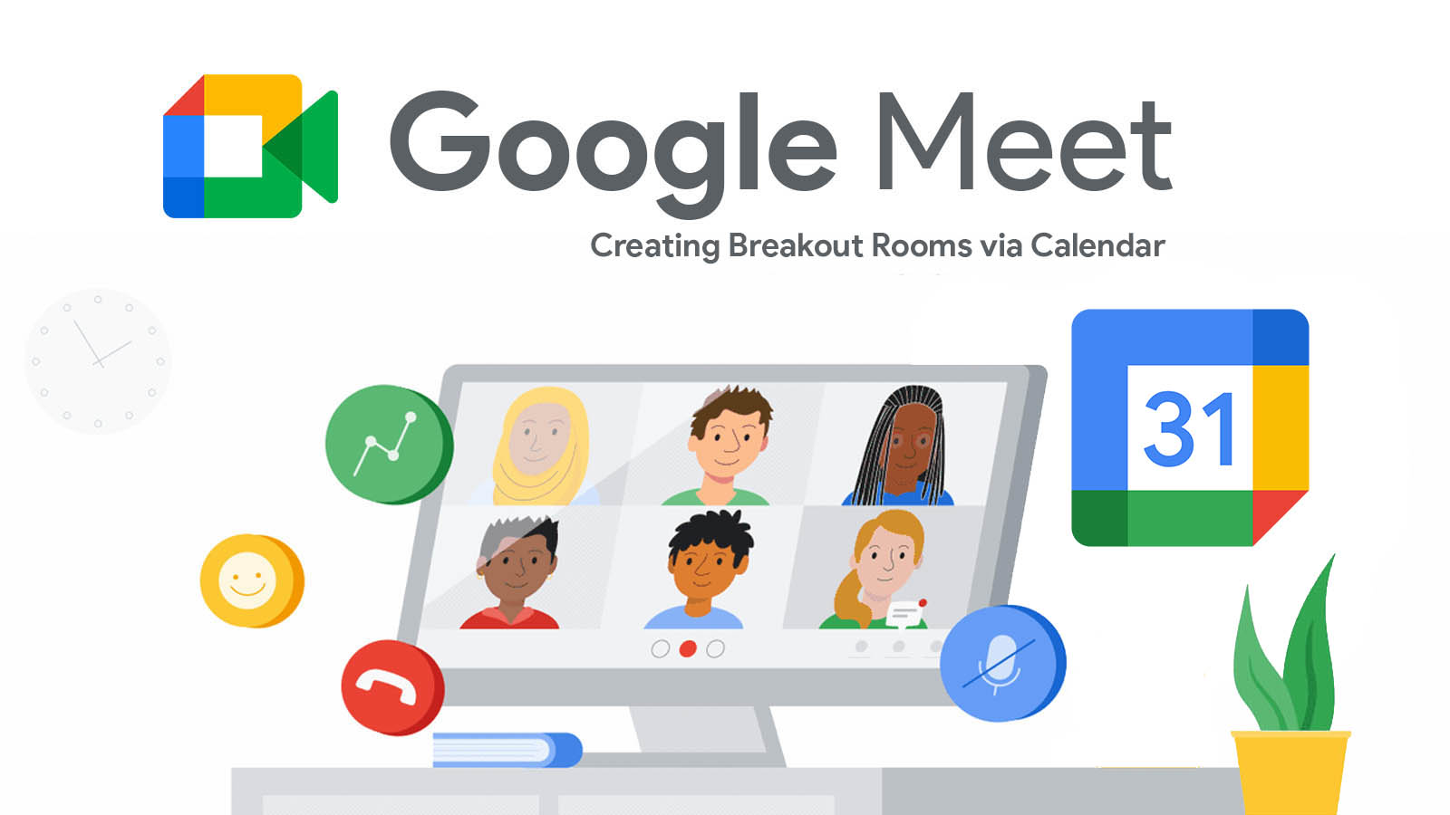 Google Meet now rolling out the ability to set up breakout rooms ahead of time via Calendar