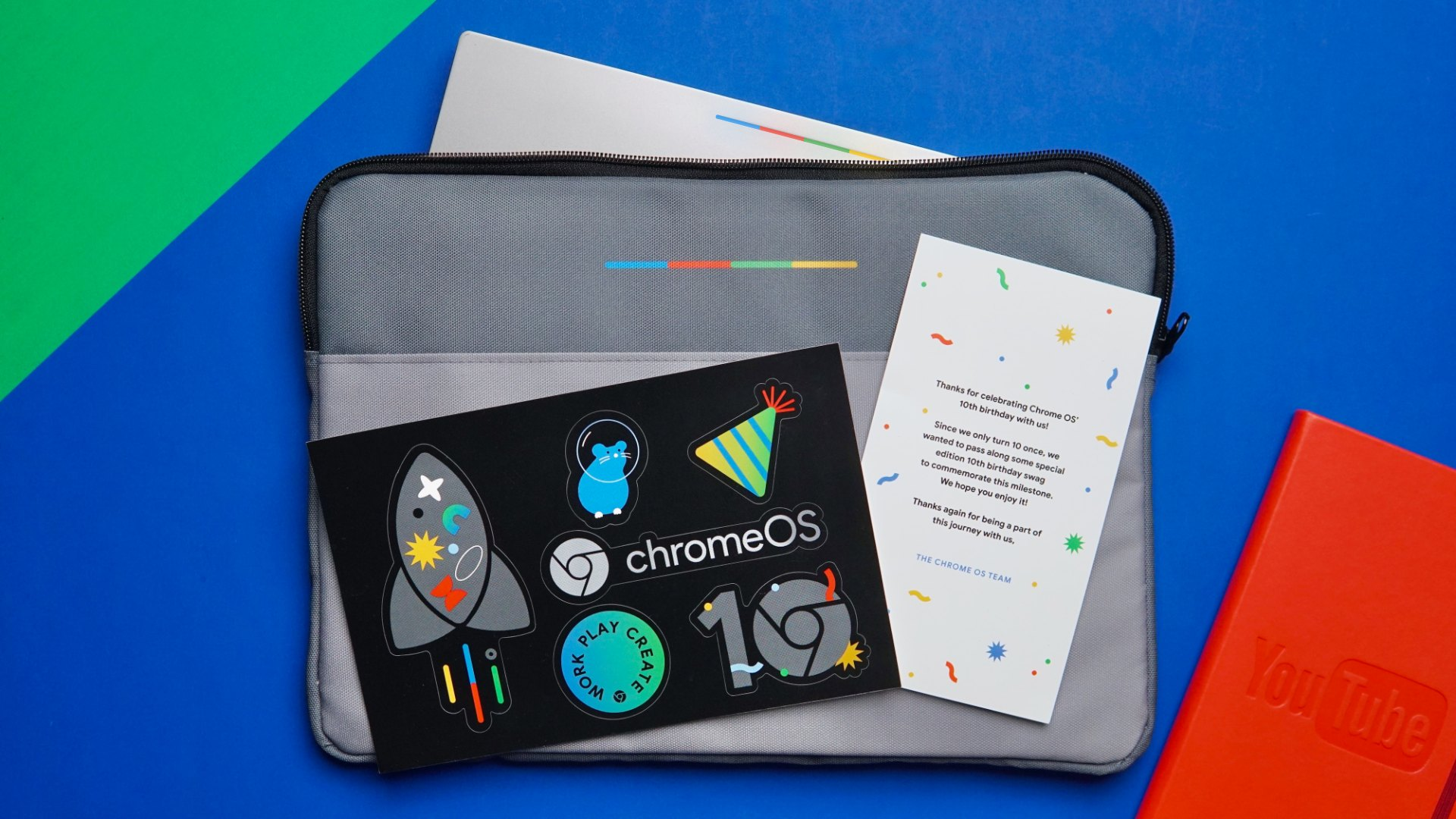 Chrome OS turns 10 & we've partnered with Google for a very special giveaway to celebrate