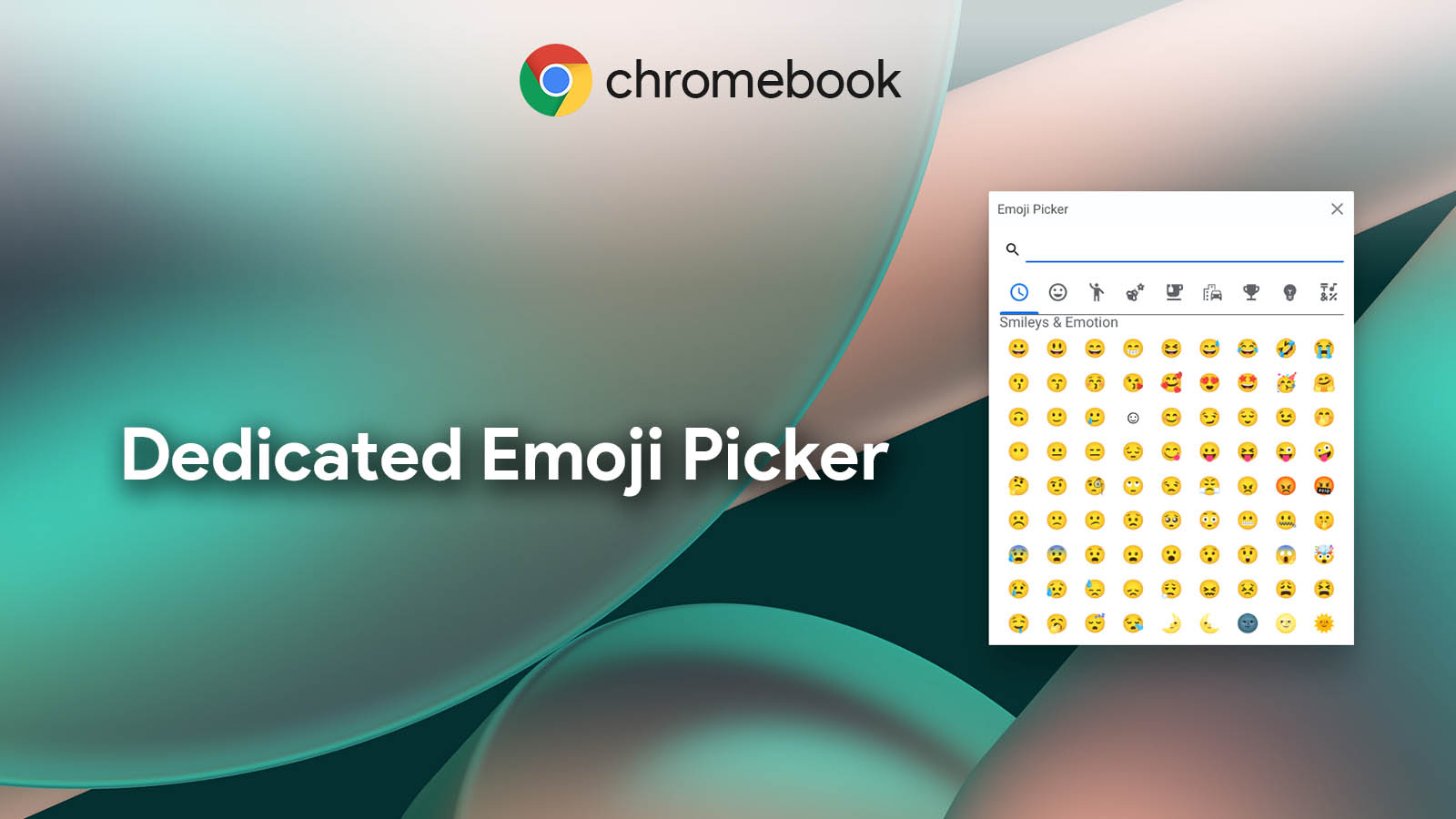 Your Chromebook will soon receive a native emoji picker for text input