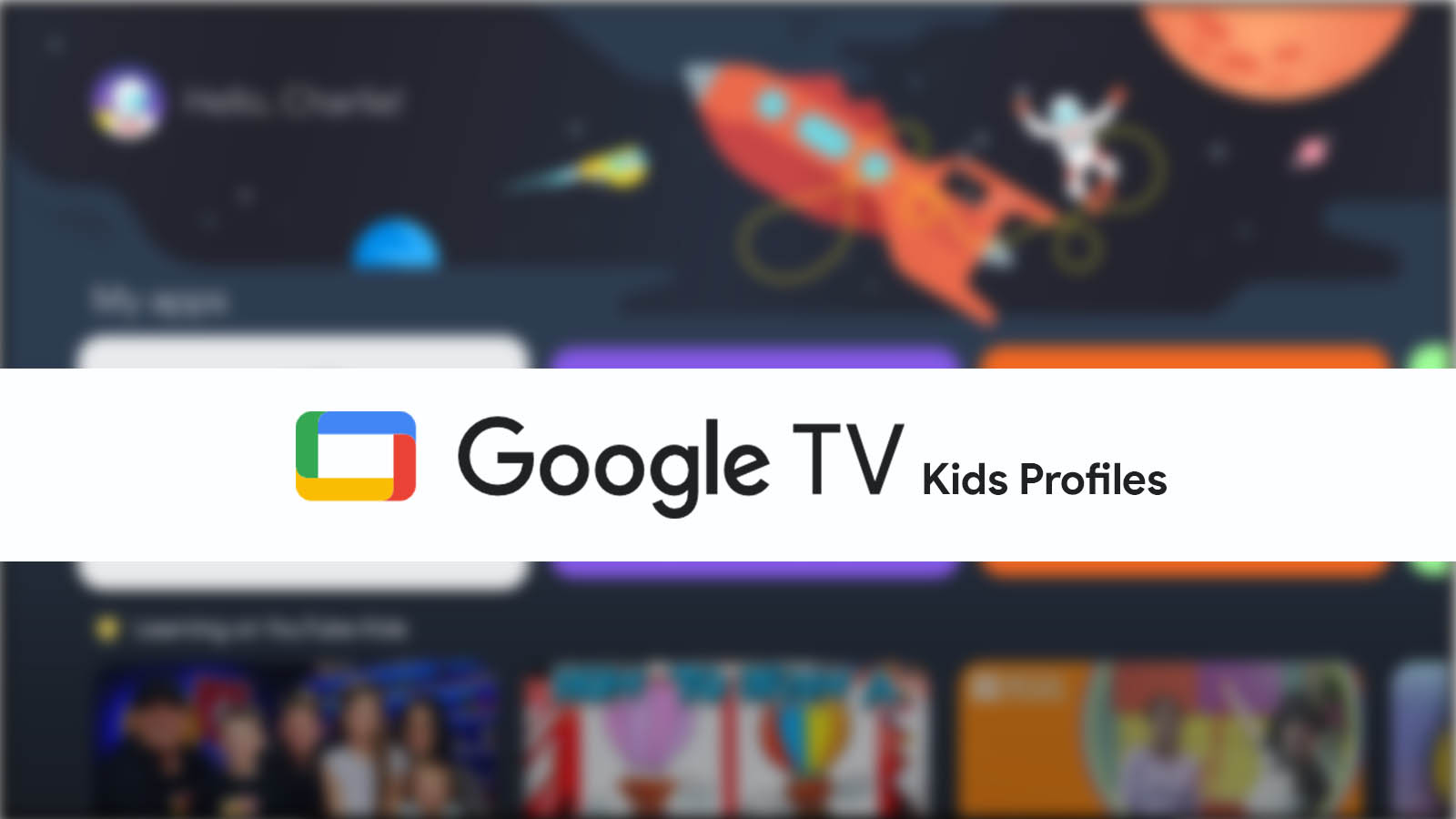 5 ways that the Chromecast with Google TV can improve kids profiles