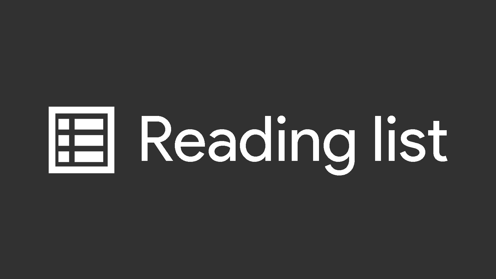 Not everyone loves Chrome's new 'Reading list' feature, so now it can be hidden entirely
