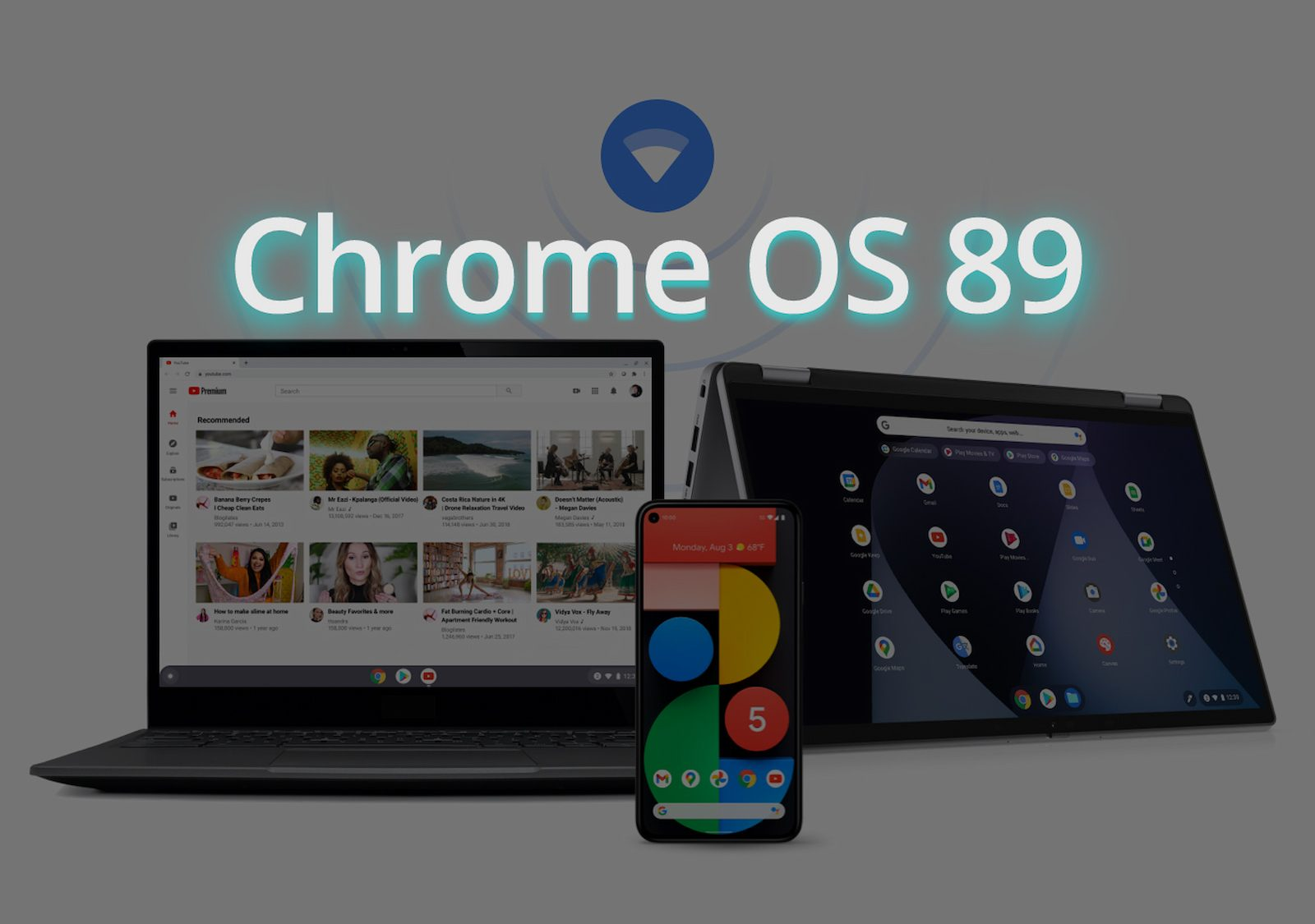 Chrome OS 89 is here with a hat full of tricks