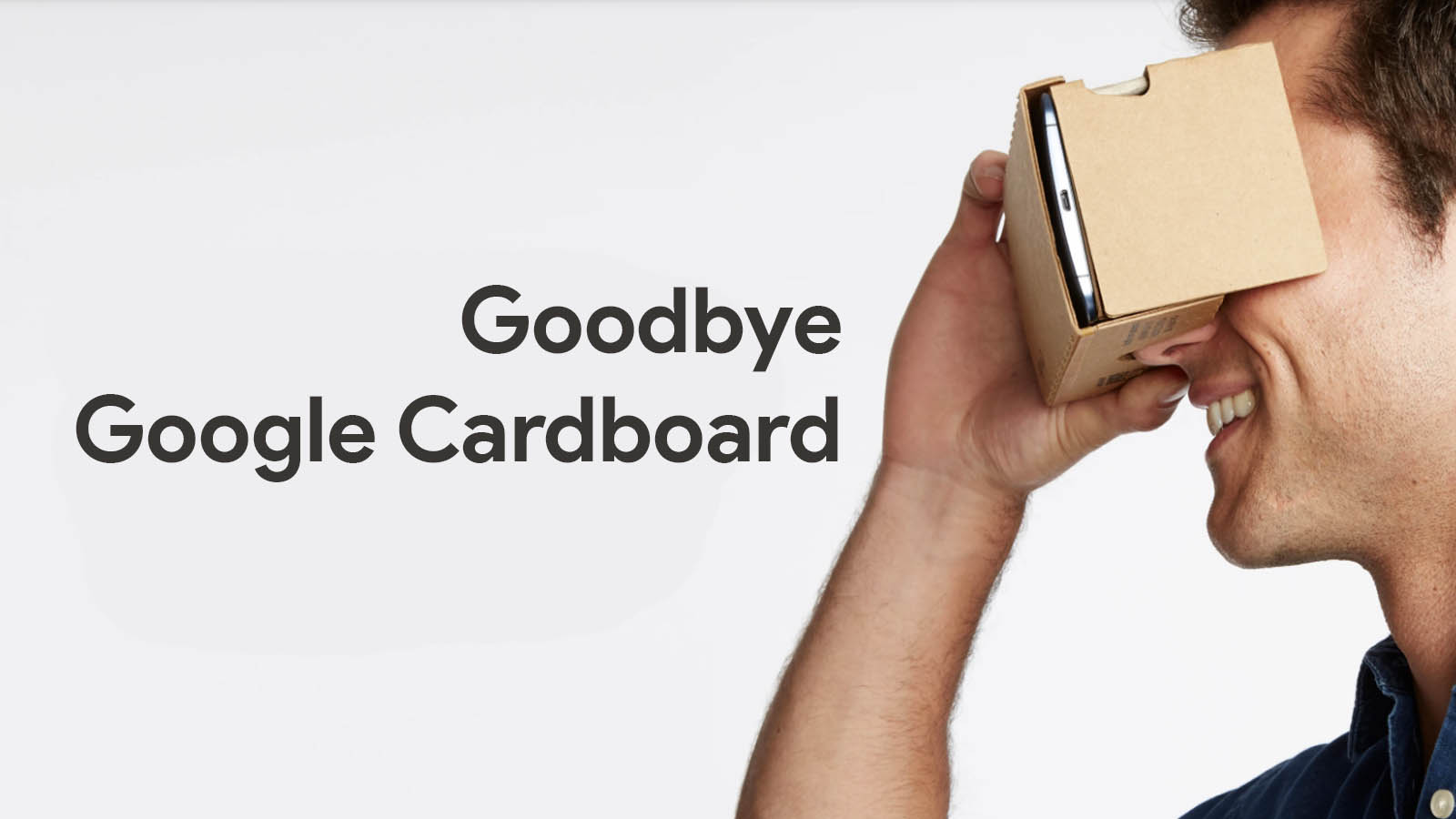 """Google Cardboard """"hardware"""" finally discontinued, remains an open source project"""