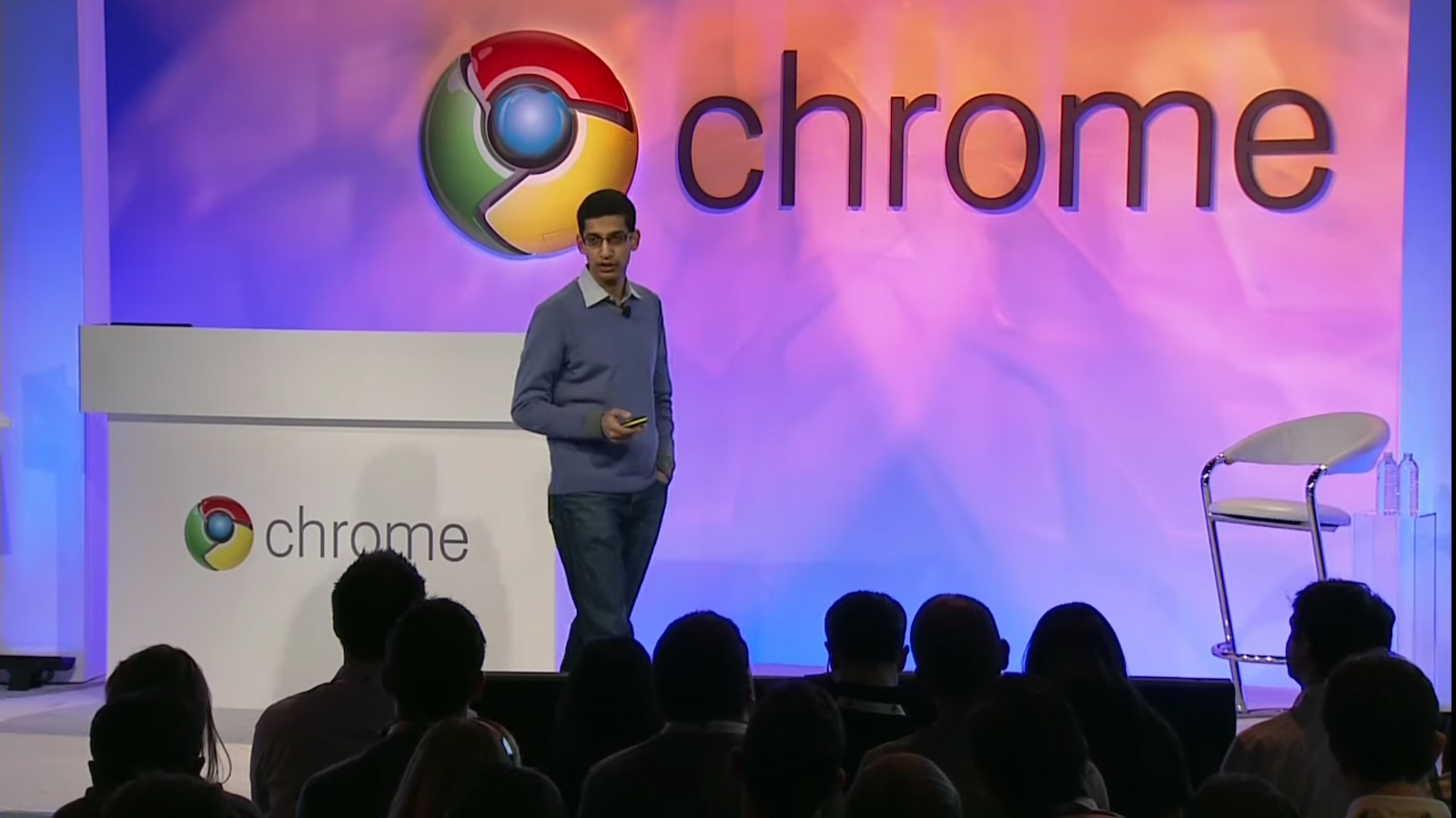 Google's CEO may have just confirmed the split of Chrome and Chrome OS