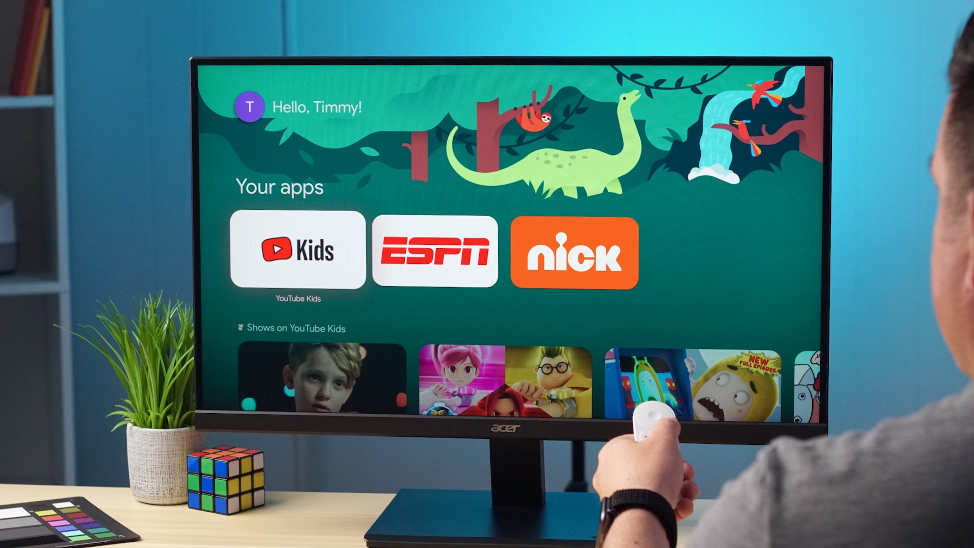 How To Set Up Kid Accounts On Chromecast With Google TV [VIDEO]