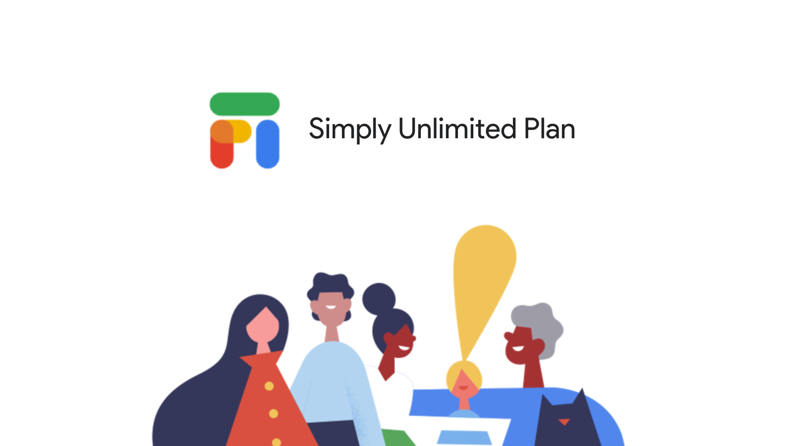 """Google Fi announces a new """"Simply Unlimited"""" plan for groups and families"""