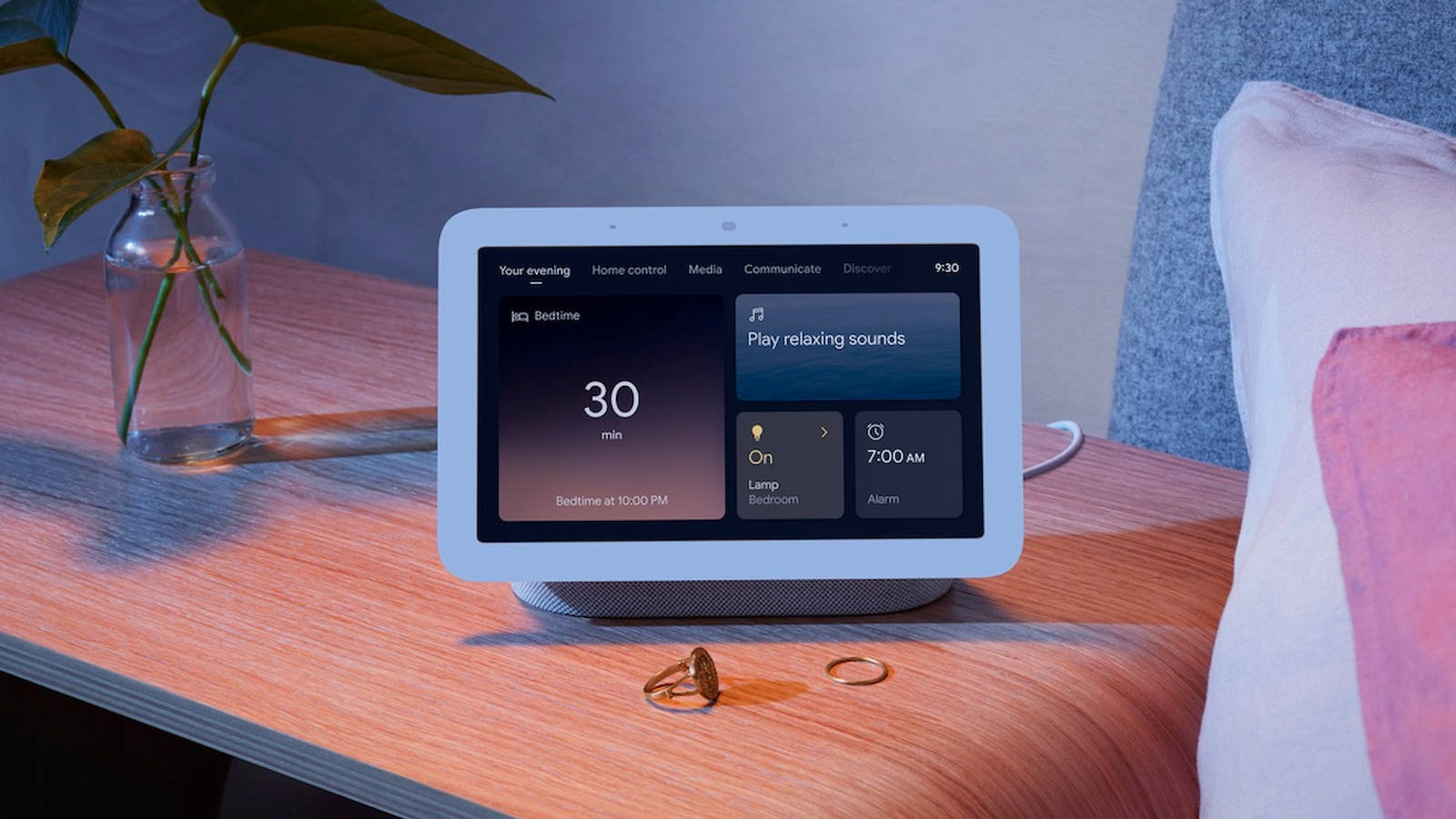 Your hotel room could soon come equipped with a Nest Hub for your convenience