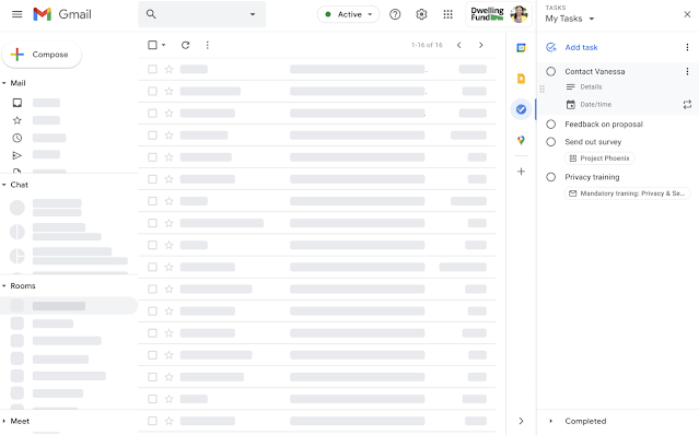 Google Tasks for the web gains inline detail editing