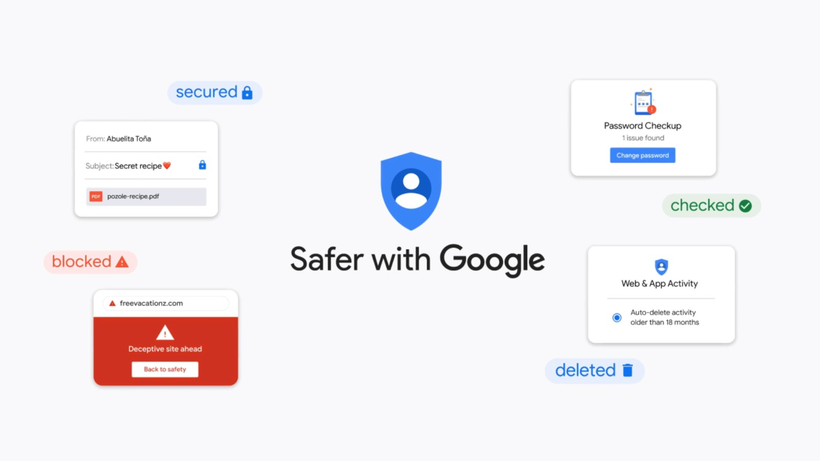 New advanced privacy and security controls arrive for your Google account