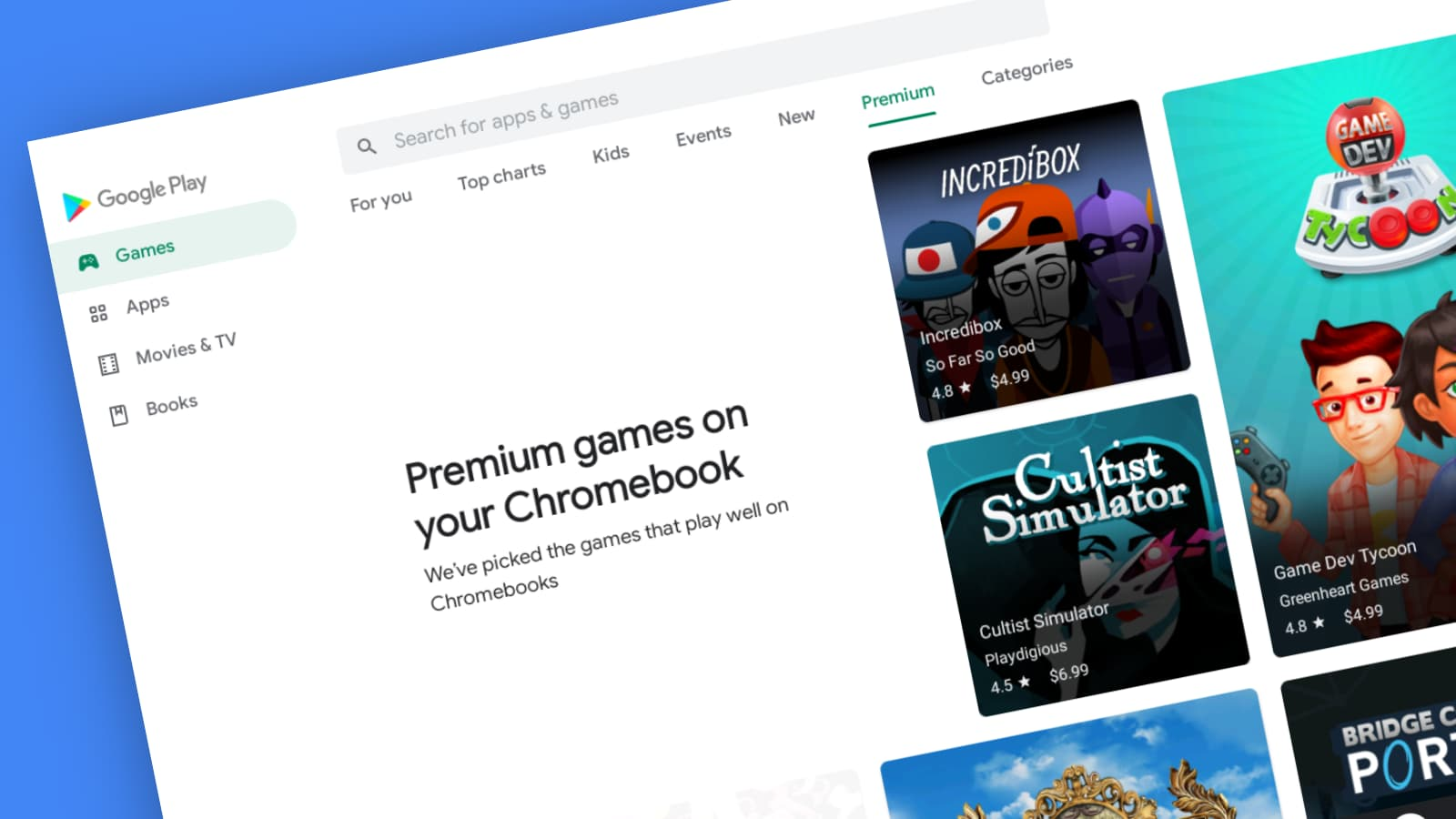 How to navigate the new Google Play Store menu redesign on your Chromebook