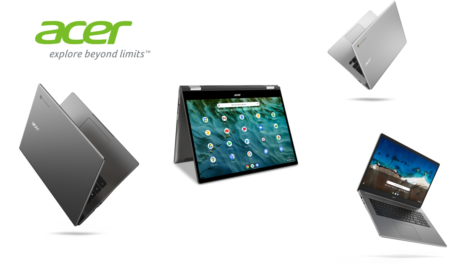 Budget to Beast: Acer unveils 4 new Chromebooks