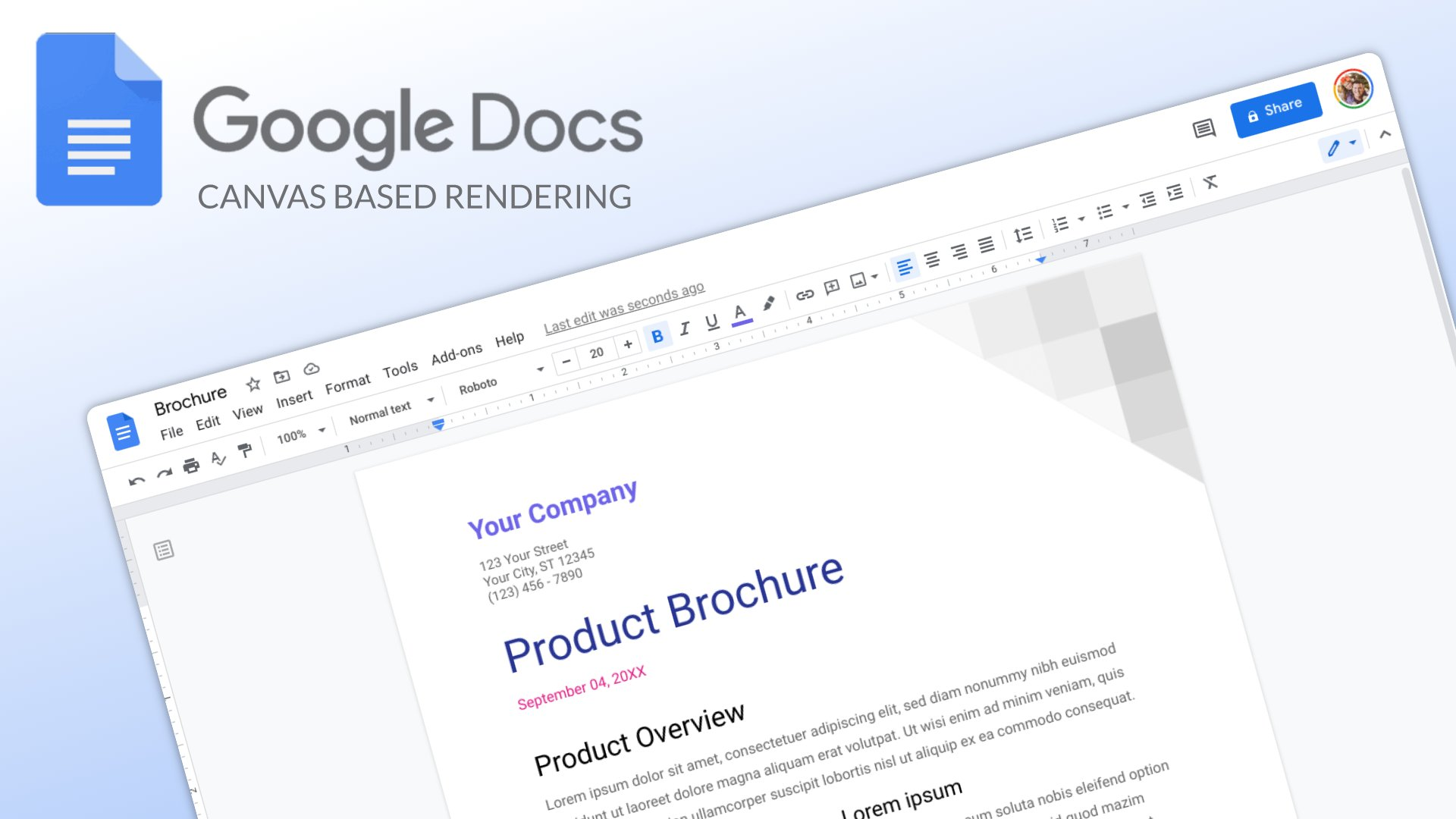 Google is rolling out a big update to speed up Google Docs rendering for everyone