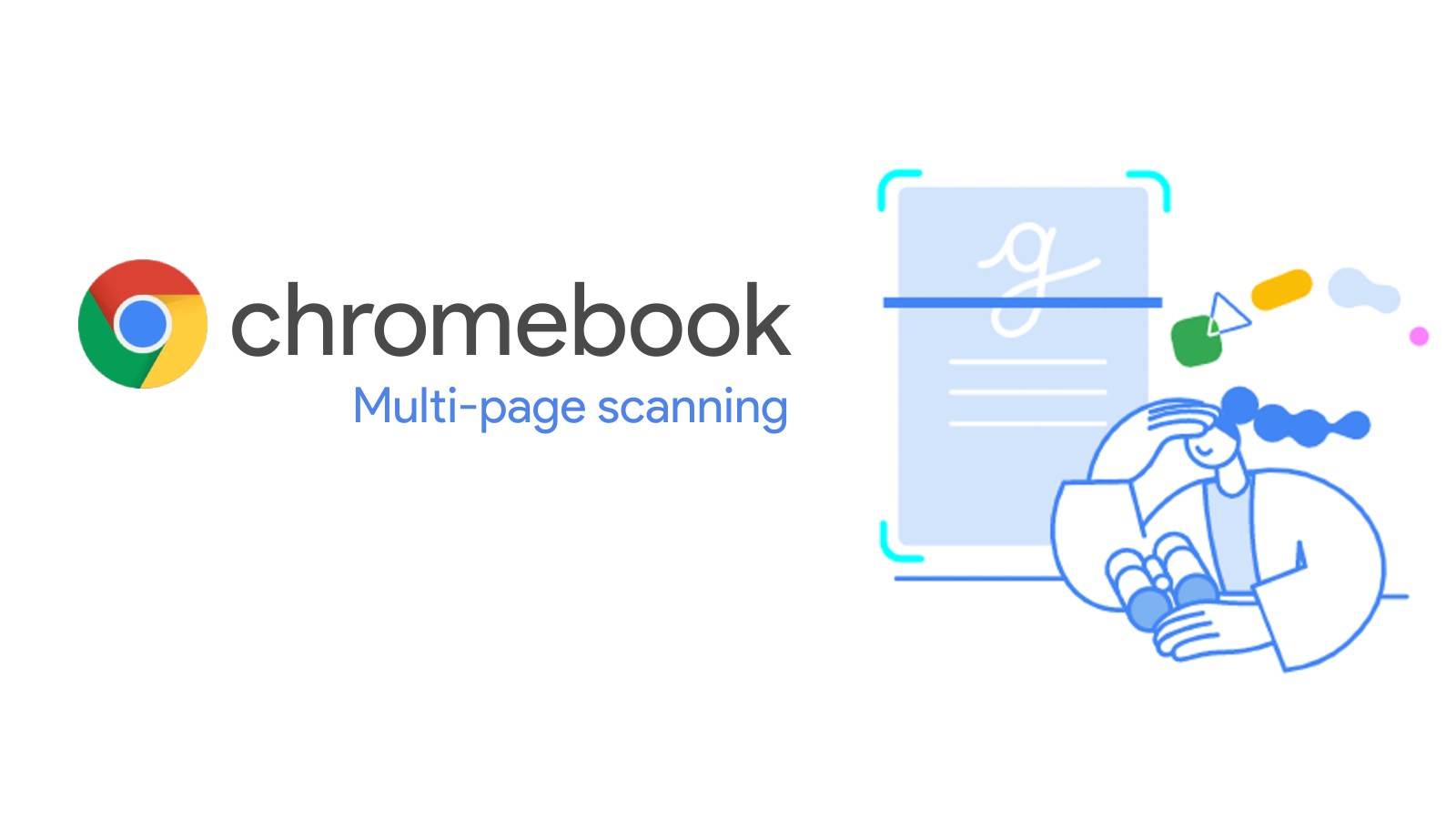 You'll soon be able to create one unified PDF from multiple page scans on your Chromebook