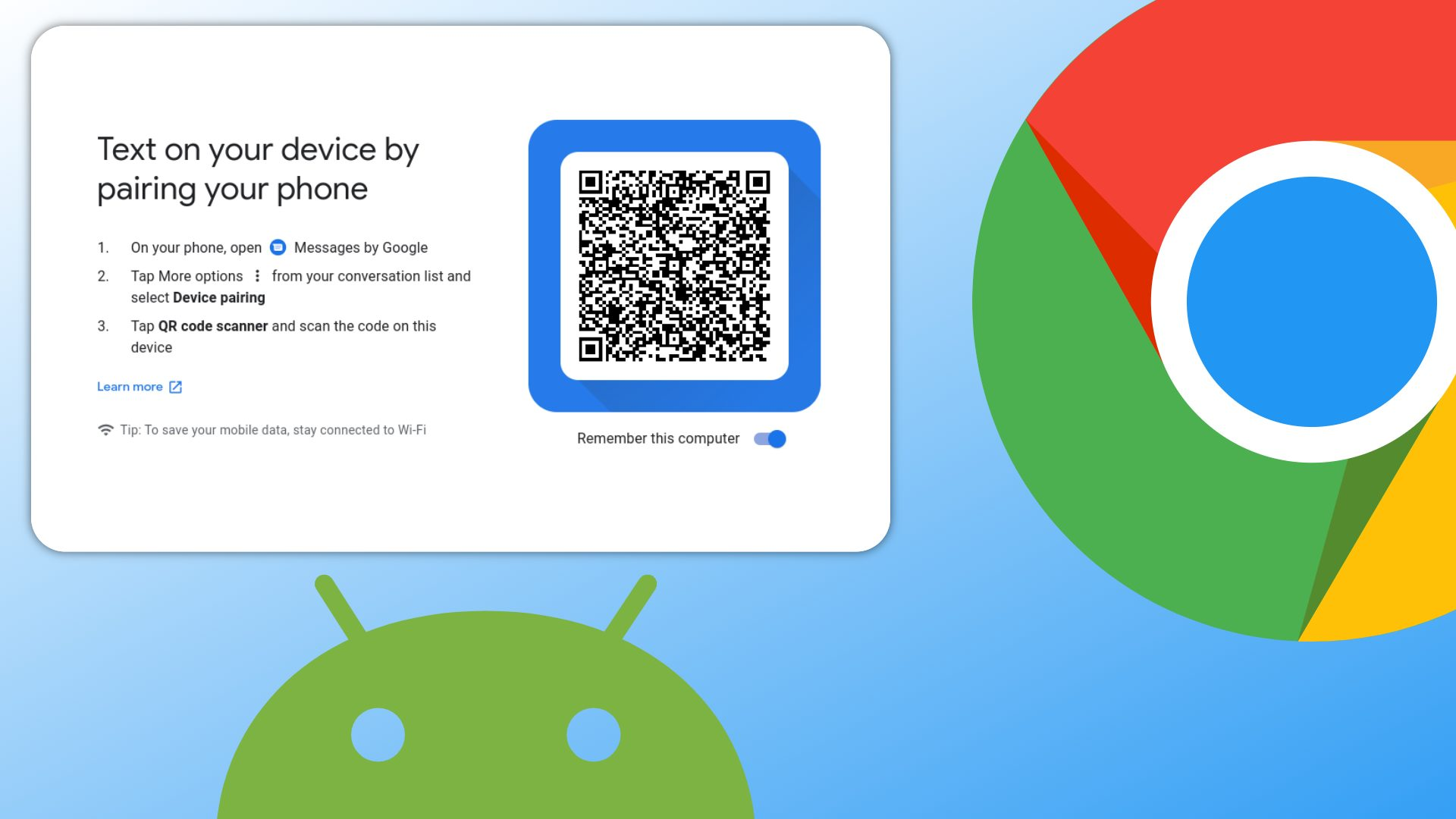 Google Messages integration on your Chromebook just got a new name