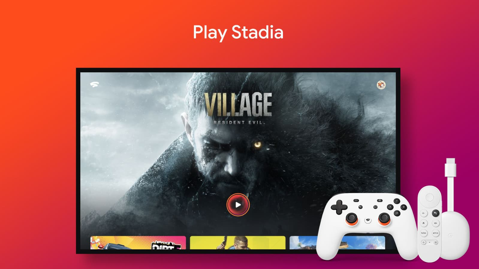 Chromecast with Google TV gets Stadia support update, but don't get too excited yet