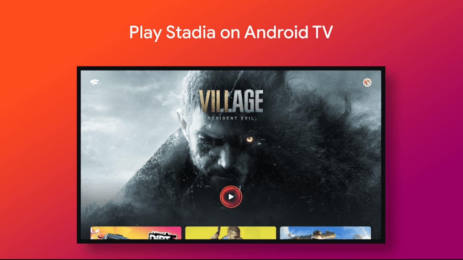 Stadia app for Google TV is available for early download, but that's as far as you'll get