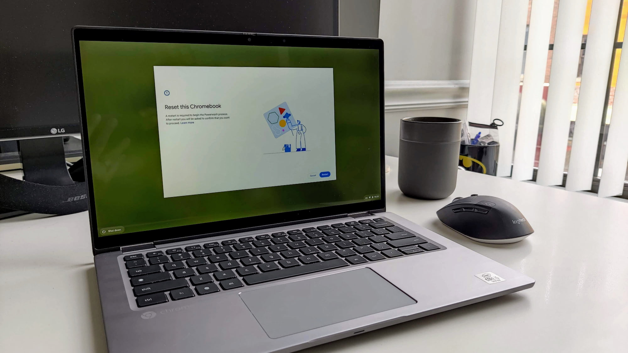 How to wipe a Chromebook (A.K.A – Powerwash) and return it to factory settings