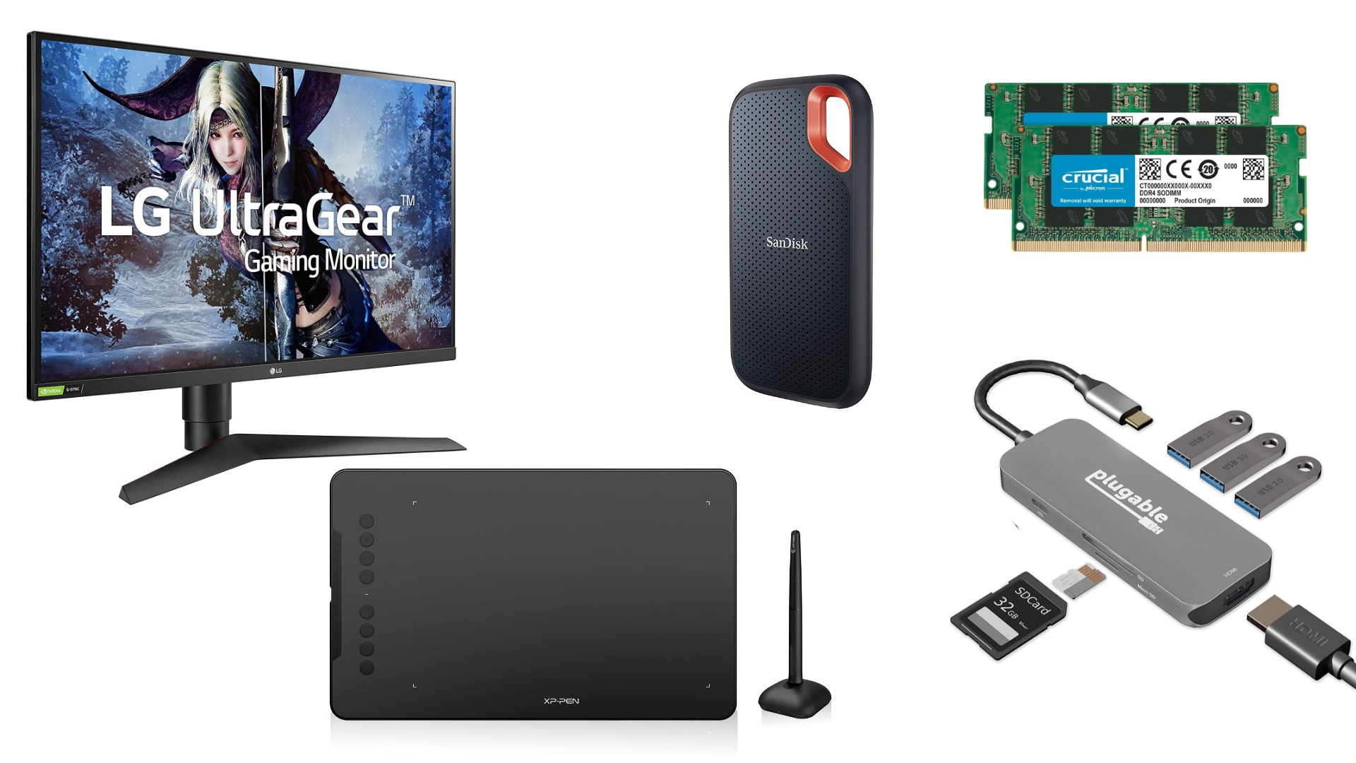 Prime Day Roundup: Monitors, Accessories, Upgrades and more