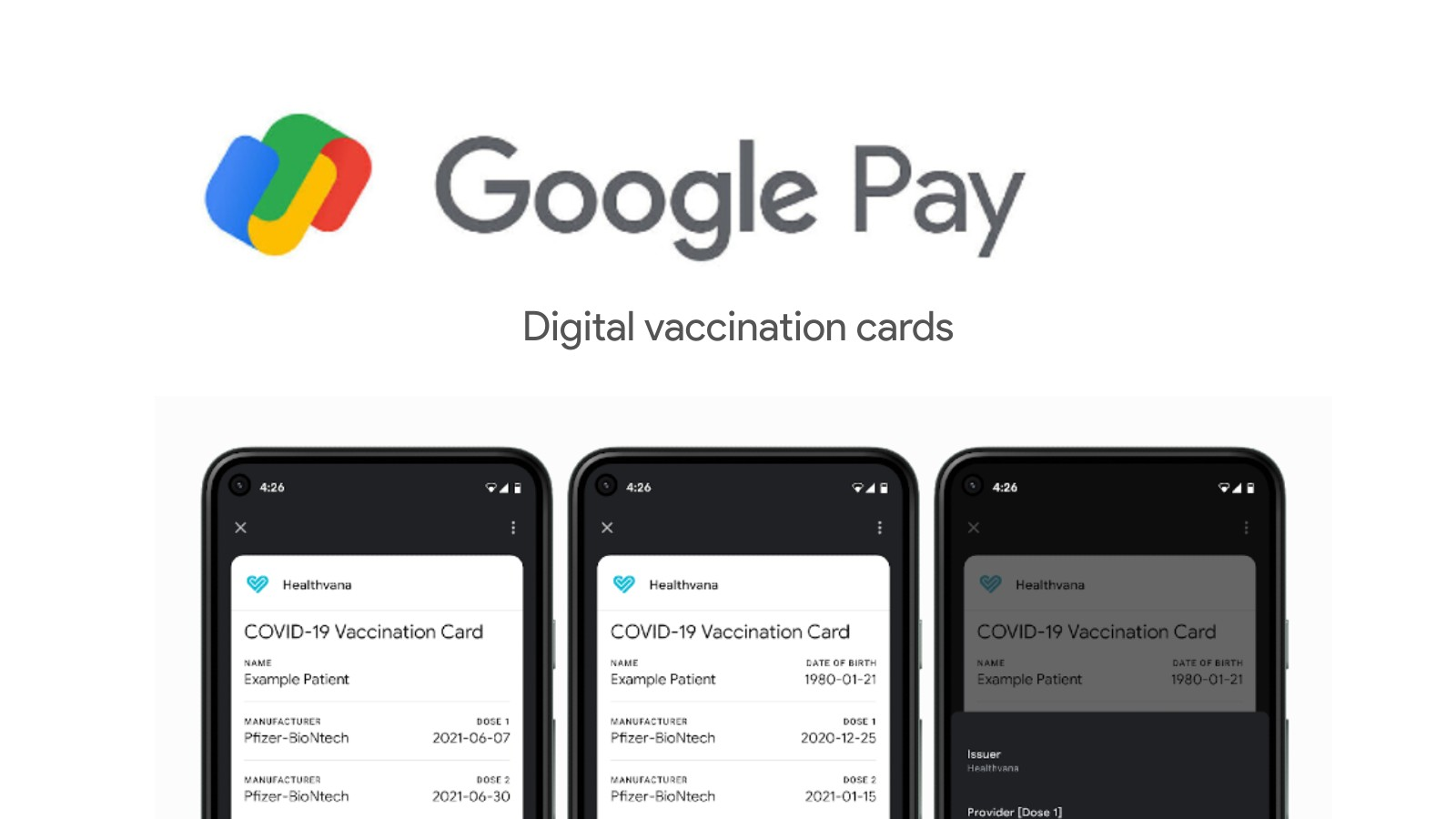 Android devices now have the ability to store digital COVID vaccination cards when they arrive