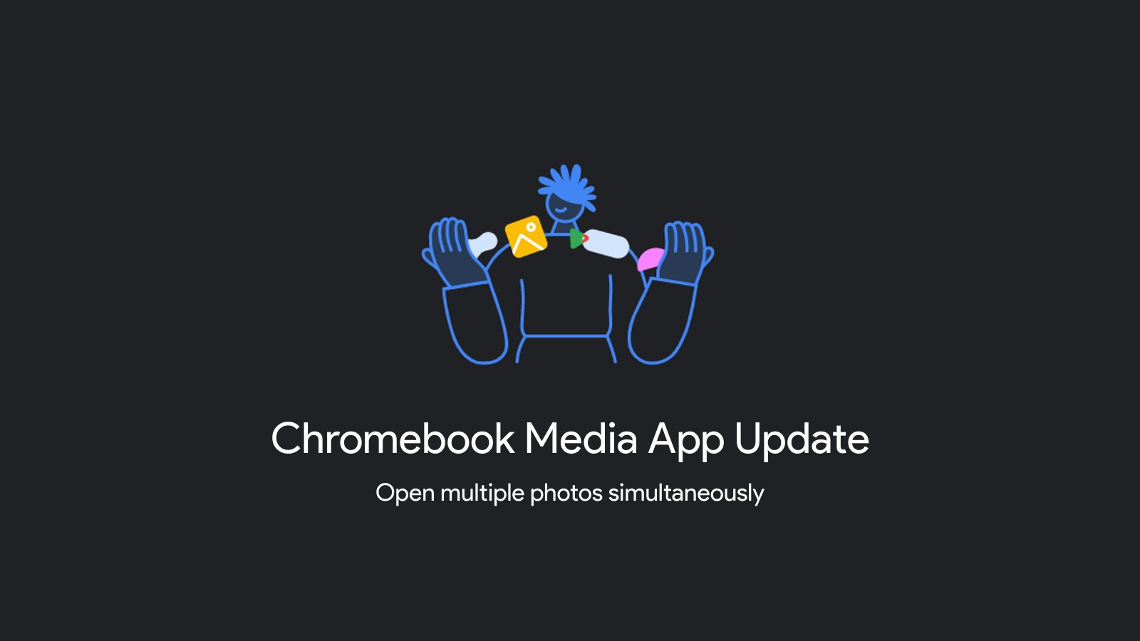 Chrome OS will soon let you compare images side by side with multiple Media app instances