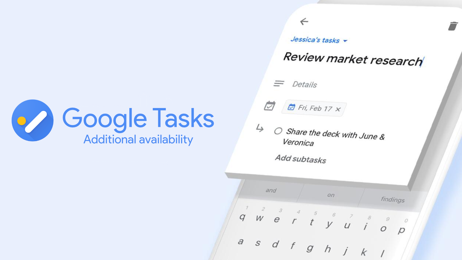 Google Tasks comes to more Workspace tiers to increase user productivity