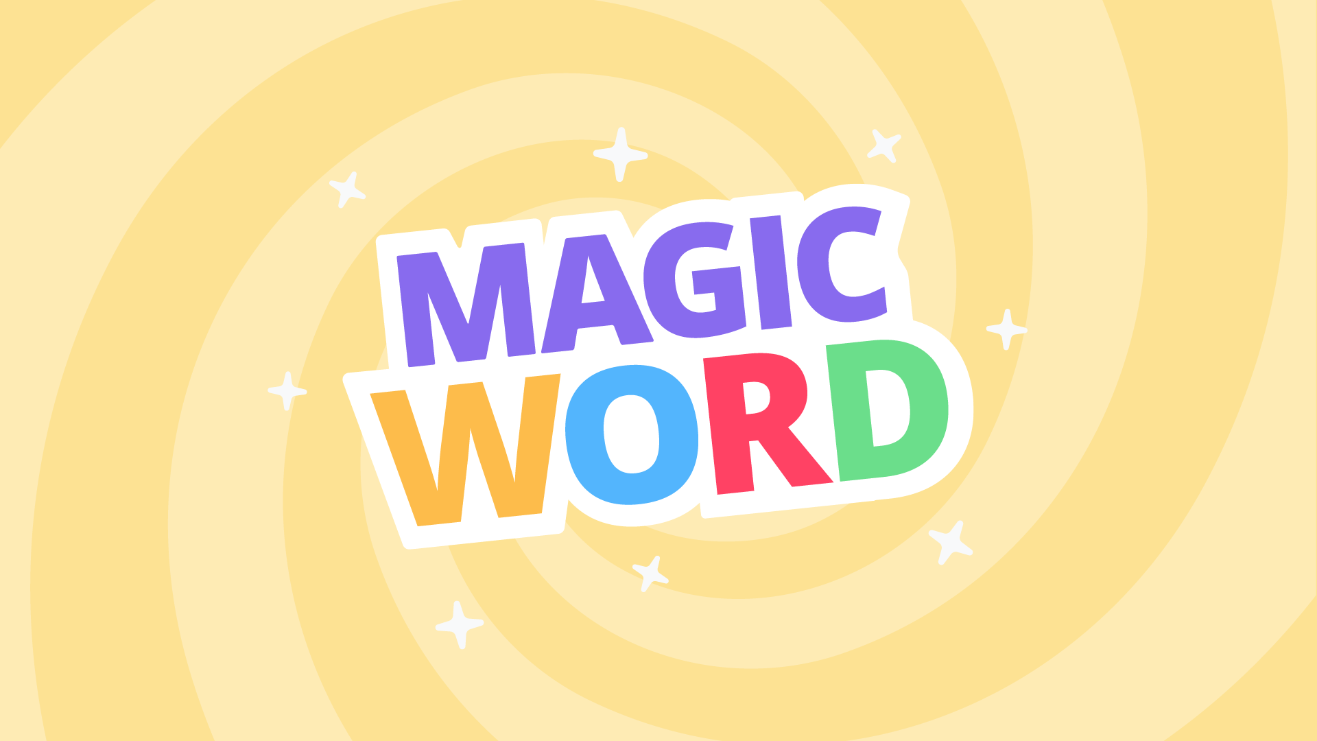 Magic Word is a new word puzzle game for smart displays that uses GIFs as clues